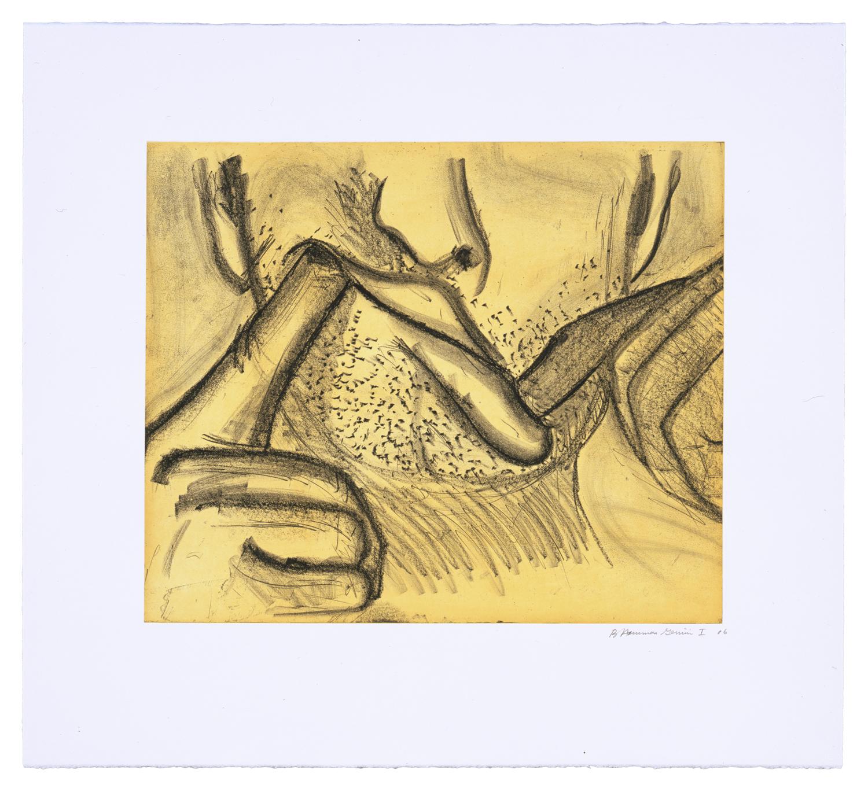 Soft Ground Etching - Yellow, 2007