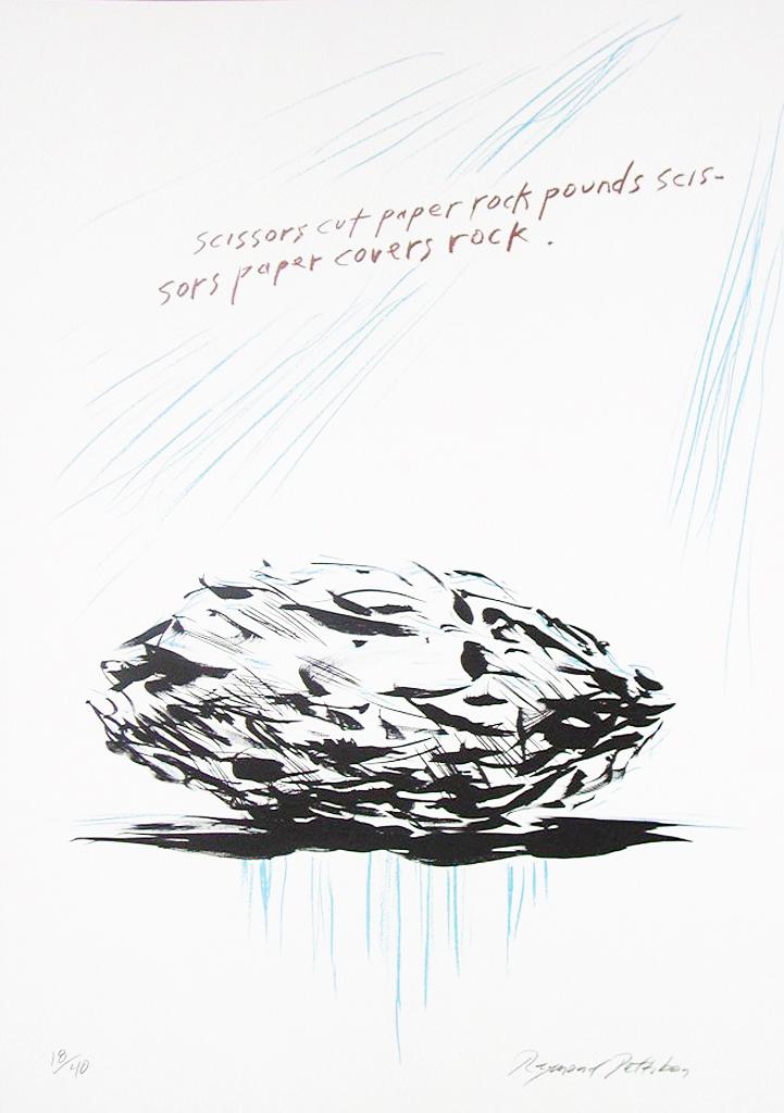 Untitled (Scissors cut paper),  2005