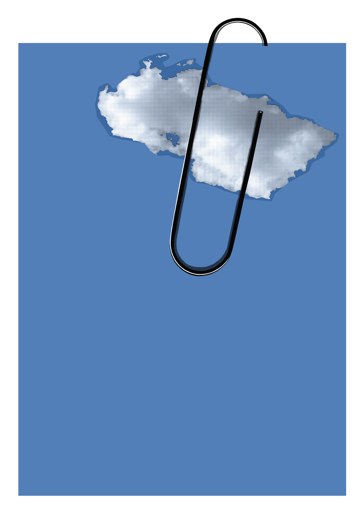 Azul (Da série Clip),  2008