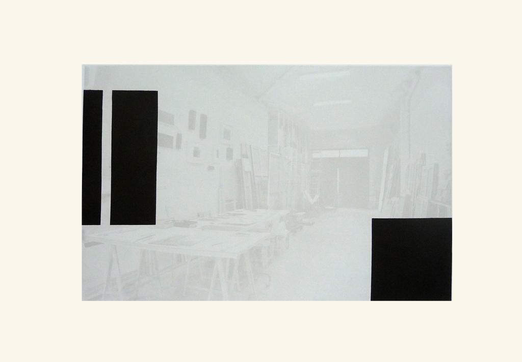 L'Atelier Rouge. Caballete,  2009