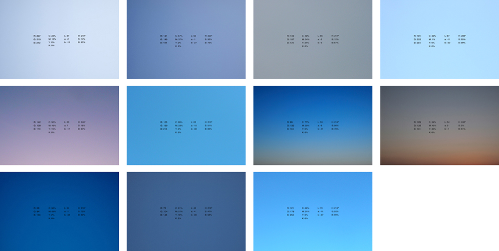 Color del aire, 2011