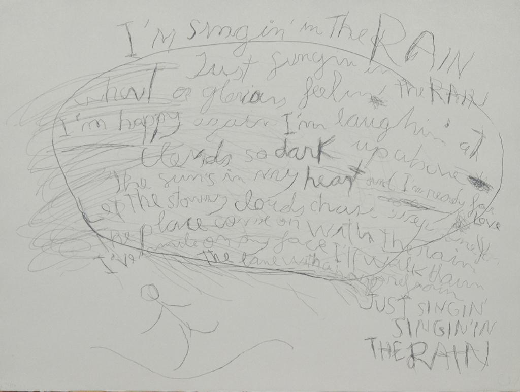 Singing in the rain,  2006