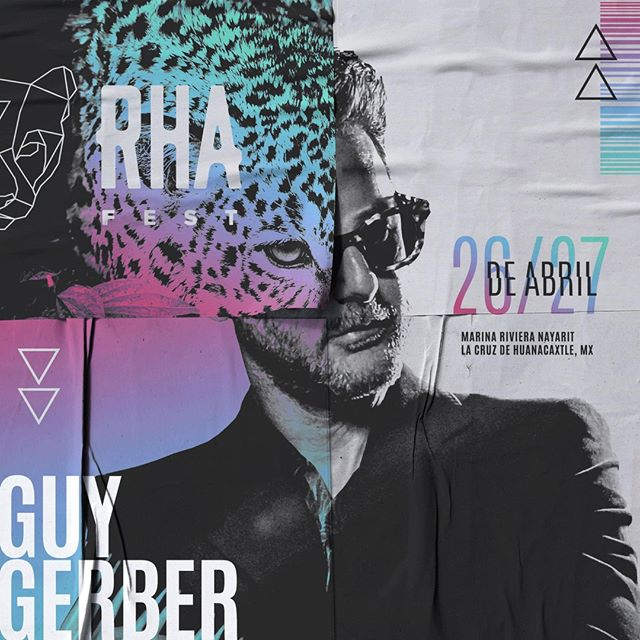 The legend @guygerber makes his way to #RHA2019 for what's sure to be a sultry affair. 2-Day passes moving fast! (link in bio)