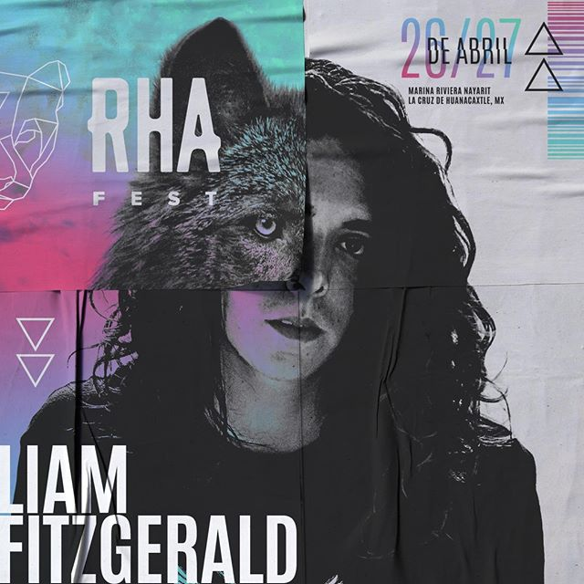 We're proud to welcome back local @liamfitzgerald.dj for the 2019 RHA Festival celebration. Liam's been an integral part of the RHA team and building the community in Mexico. See you soon! 🔥🌴💥