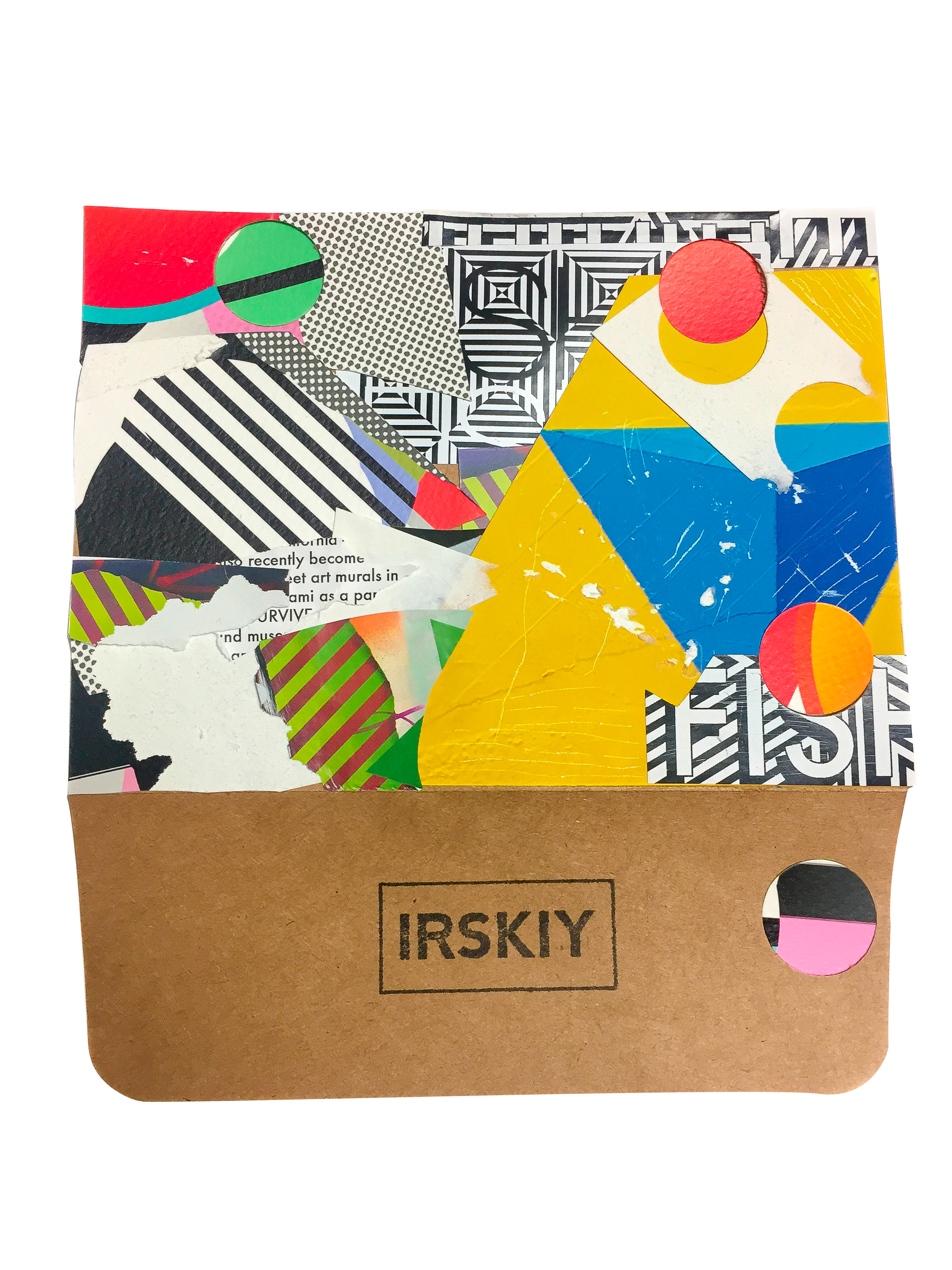 IRSKIY x FISHE - Print and paper on kraft envelope2017