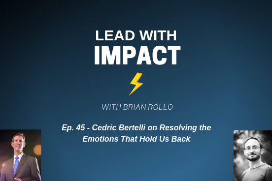 Cedric discusses why we need Emotional Resolution, how fear is at the root of our blockages, how mastering your emotions makes you a better leader and more.