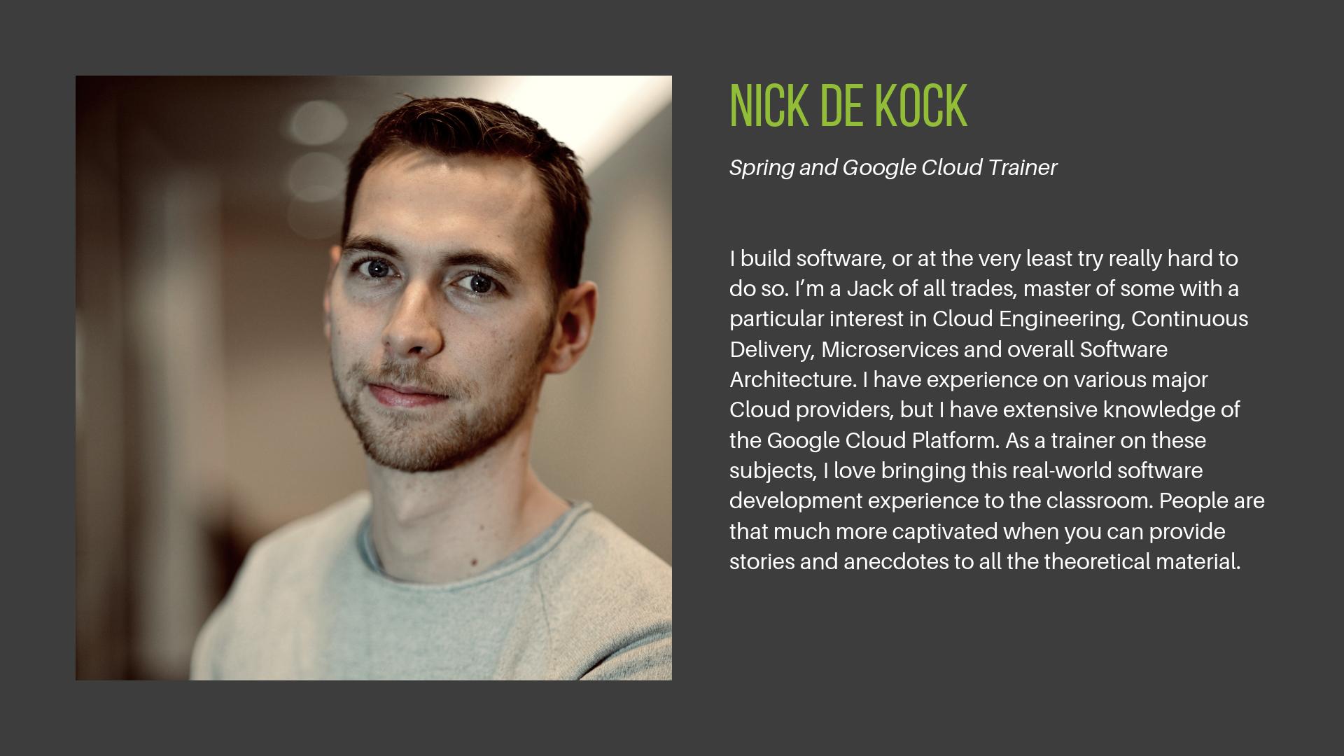 Nick De Kock