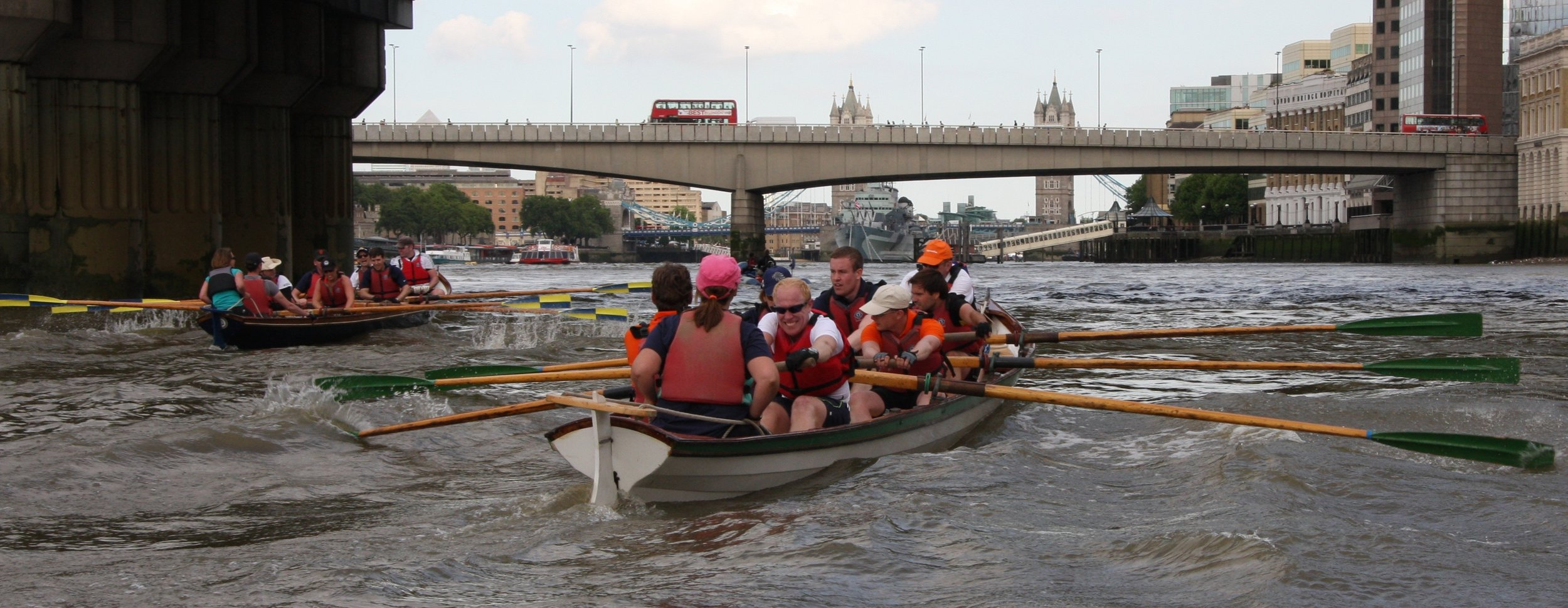 Rowing Down The River Thames.jpg