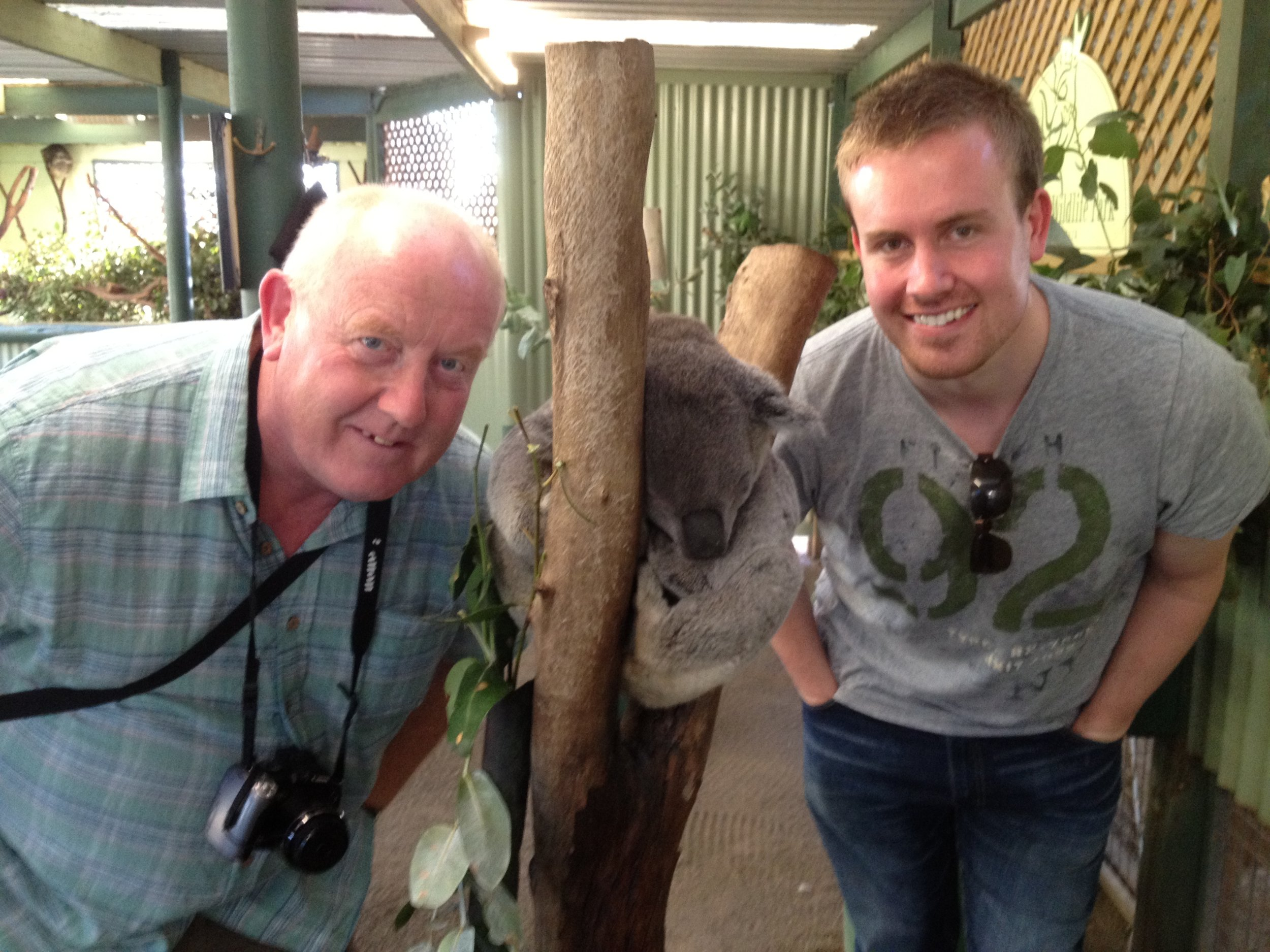 Tim and Dad in Australia.JPG