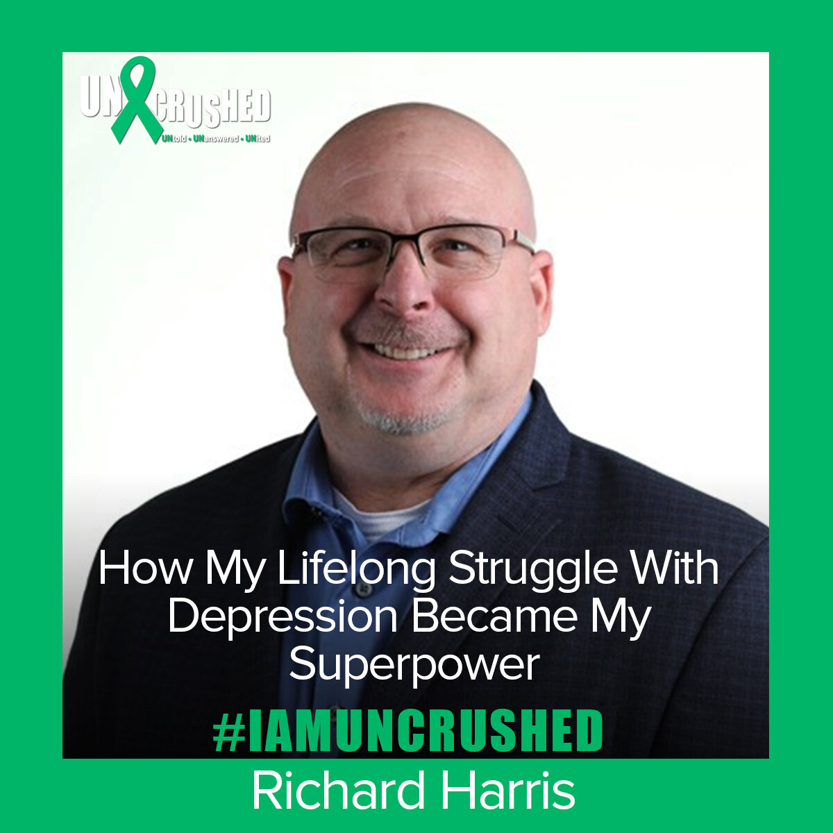 Read  How My Lifelong Struggle Became My Superpower  by Richard Harris.