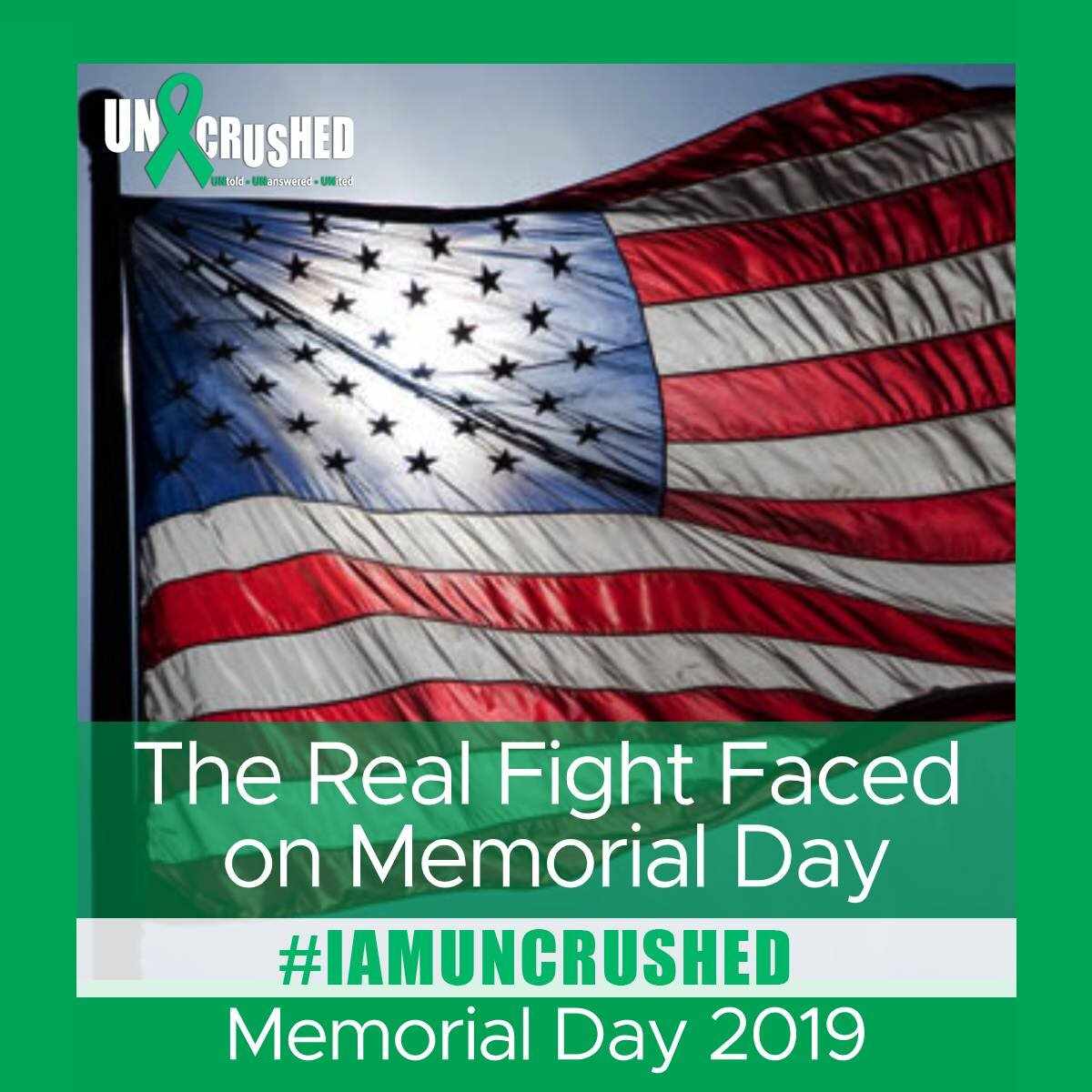 Read  The Real Fight Faced on Memorial Day  here.