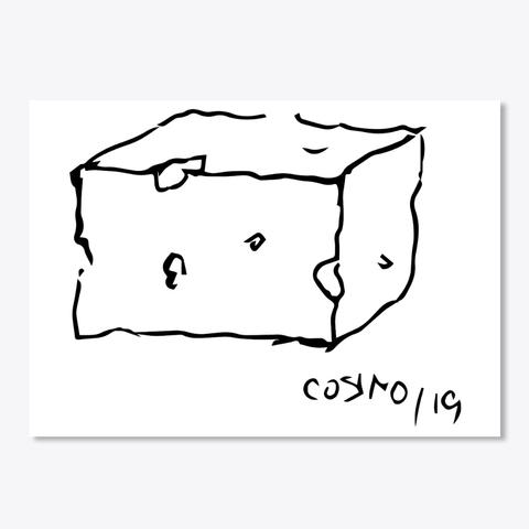 Cheese Sticker- CHEESE BLOCK 2