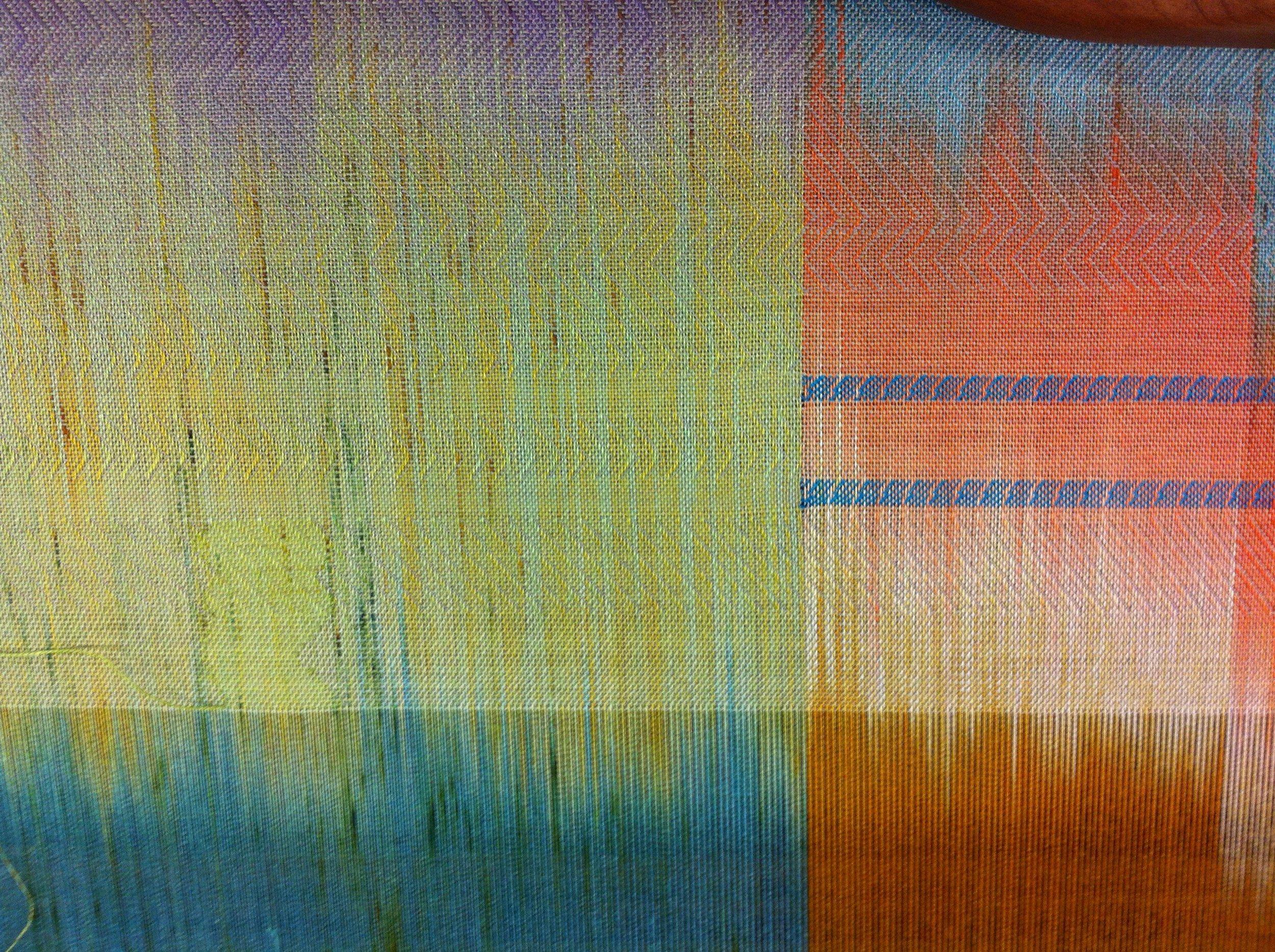 Sound + Silk - A Tactile Translation