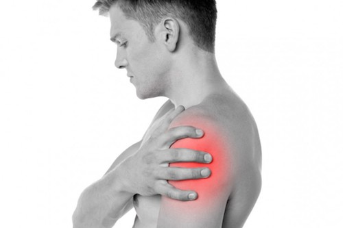 The most common cause of  shoulder pain  and  neck pain  is  injury  to the soft tissues, including the muscles, tendons, and ligaments within these structures. Degenerative arthritis of the spine in the  neck  (cervical spine) can pinch nerves that can cause both  neck pain  and  shoulder pain .