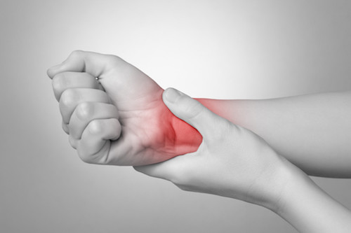 Hand  injuries.  Causes  of  hand  injuries can include knocks, blows, jamming a finger, and repetitive strain. The  hands  and wrists contain many different bones, joints, and connective tissues, such as ligaments, tendons, nerves, and blood vessels.