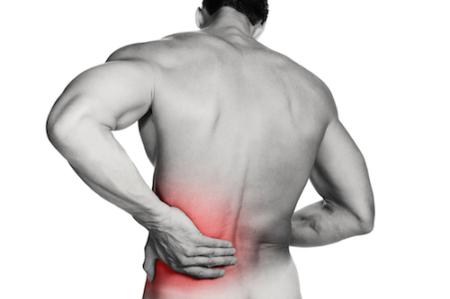 Most  lower  spine problems are  caused  by a herniated disc that presses on nerves in the spinal column. This produces the  pain  known as sciatica, which can be felt in the  hip
