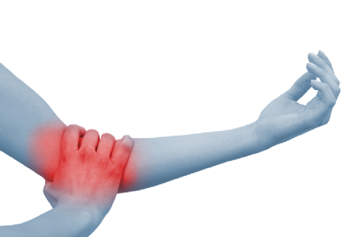 Elbow pain  is often  caused  by overuse. Many sports, hobbies and jobs require repetitive hand, wrist or arm movements.  Elbow pain  may occasionally be due to arthritis, but in general, your  elbow  joint is much less prone to wear-and-tear damage than are many other joints.