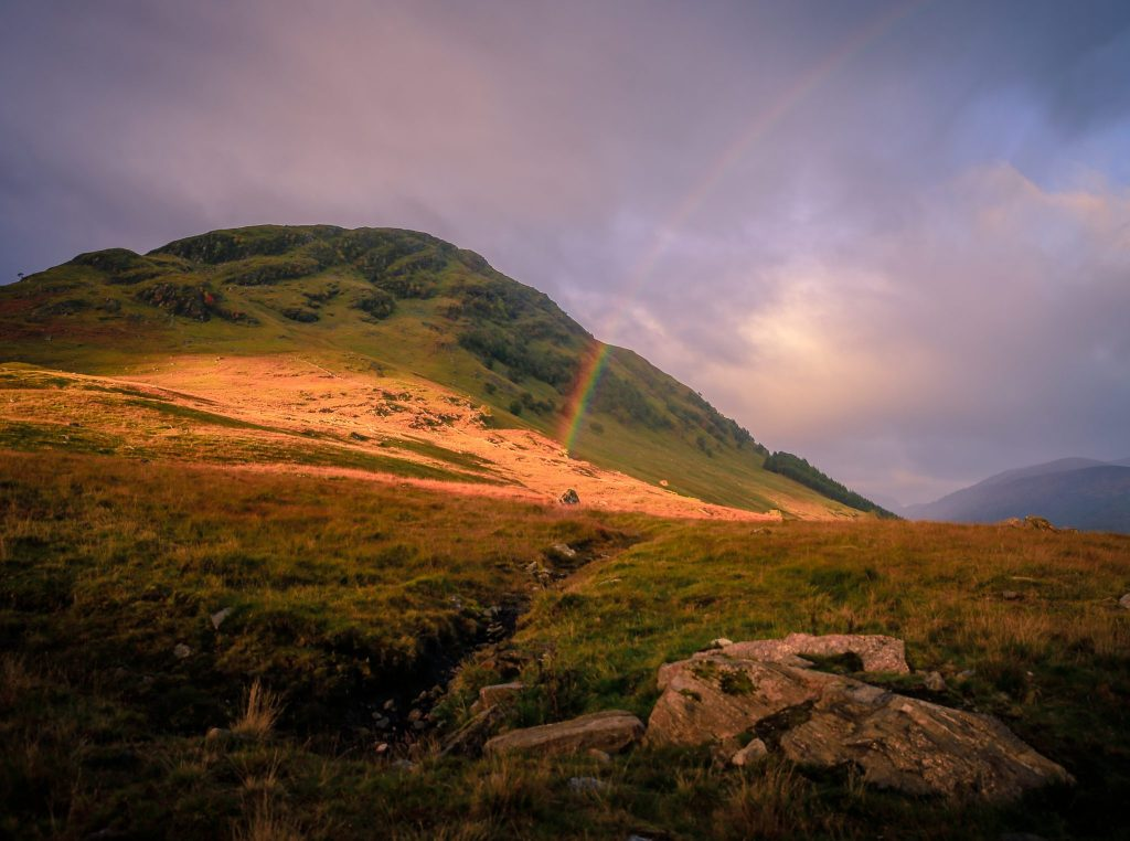 Rainbow, Glen Lyon