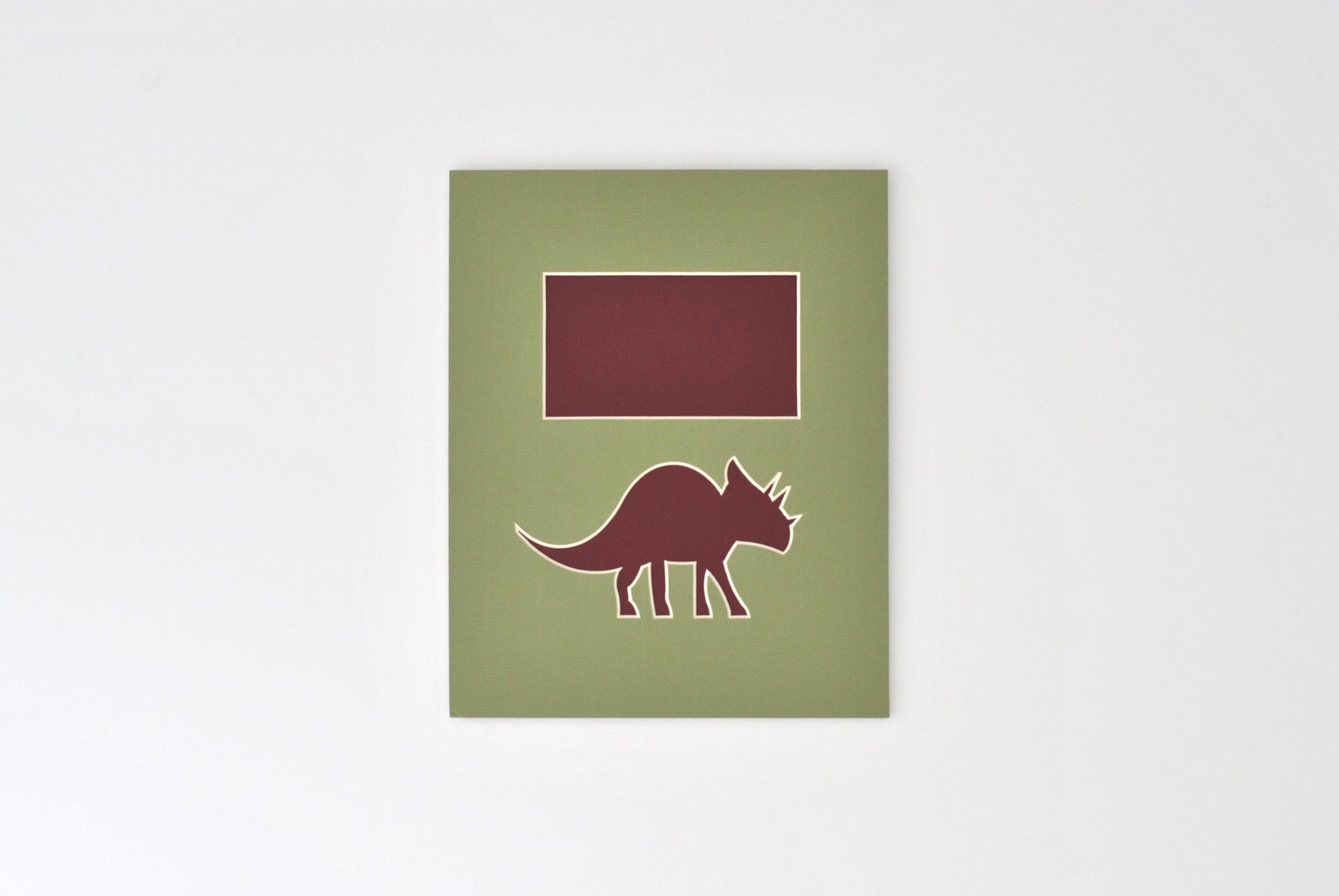 Dino 1 - Triceratops