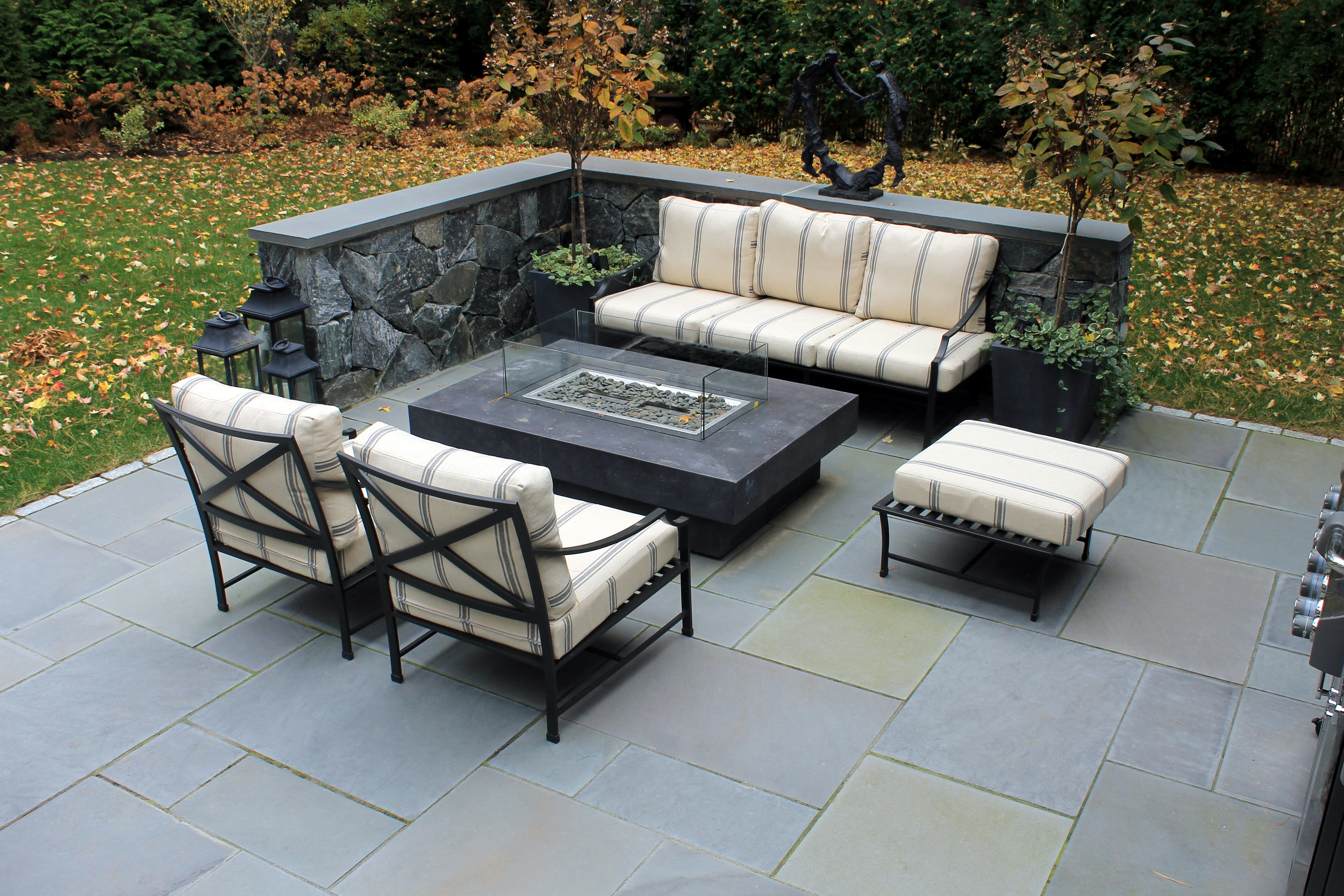 Stunning bluestone patio in Lexington, MA
