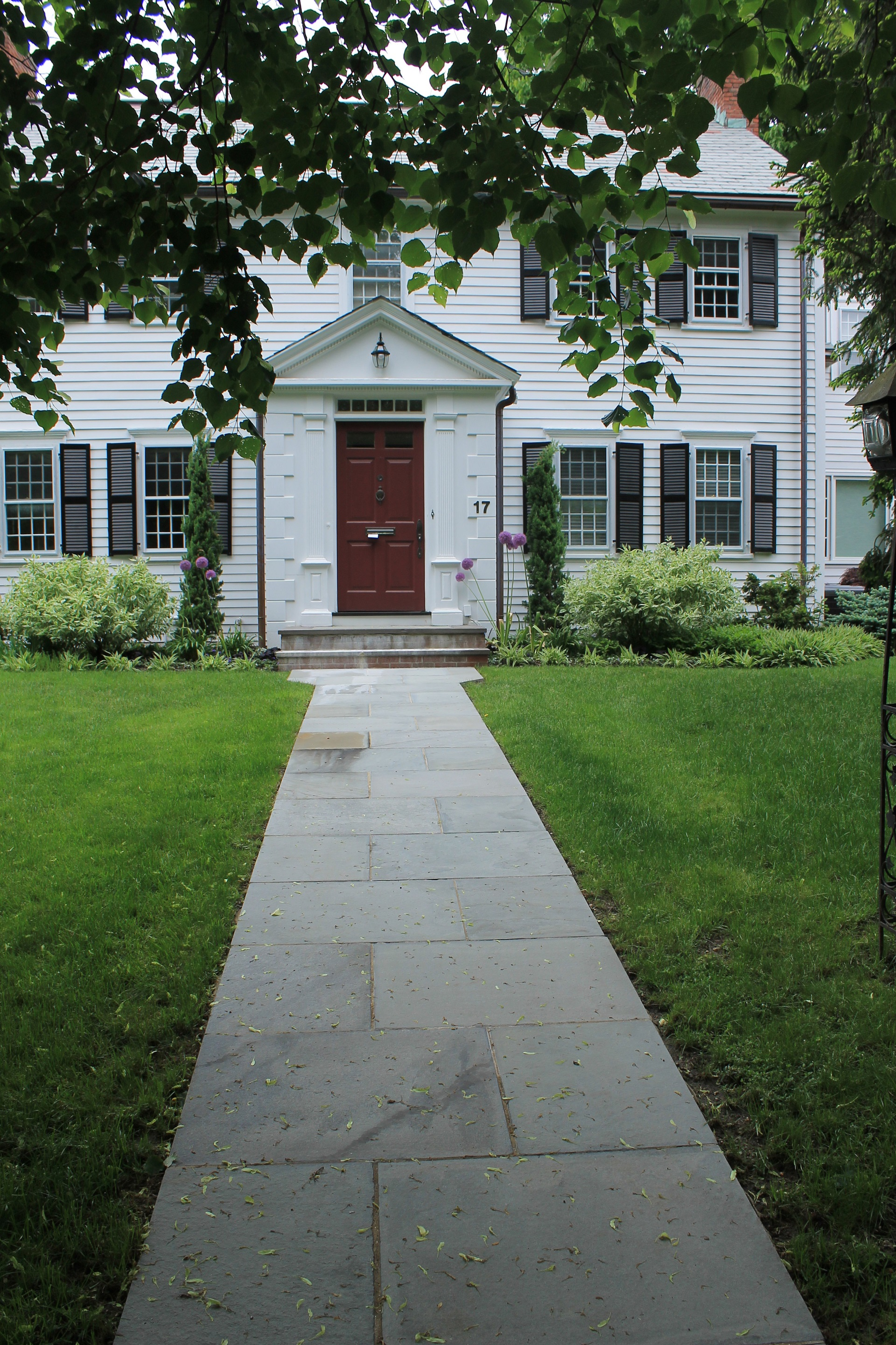 Stunning walkway pavers by landscapers near me in Cambridge, MA