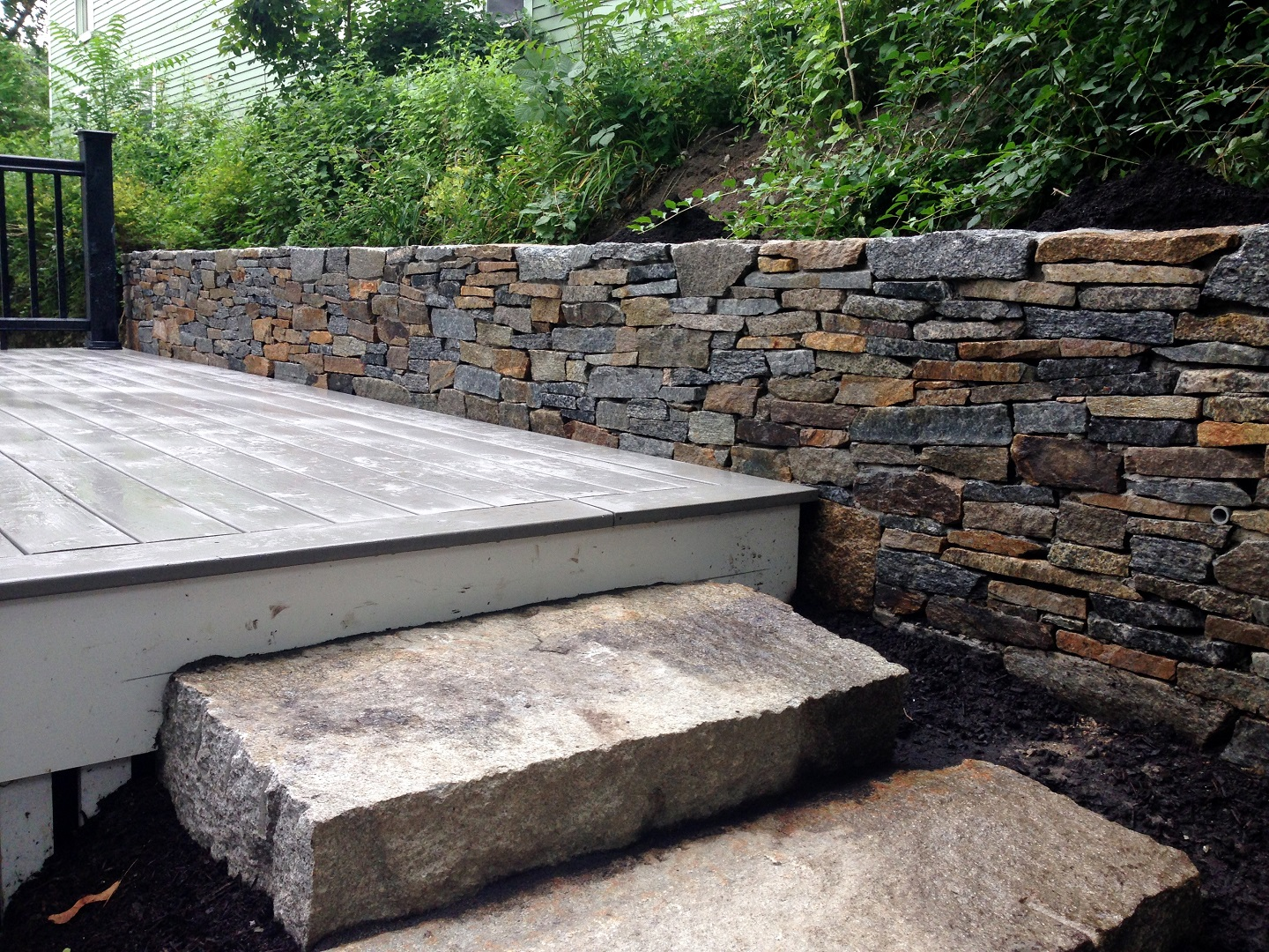Retaining wall and deck builder in Arlington, MA