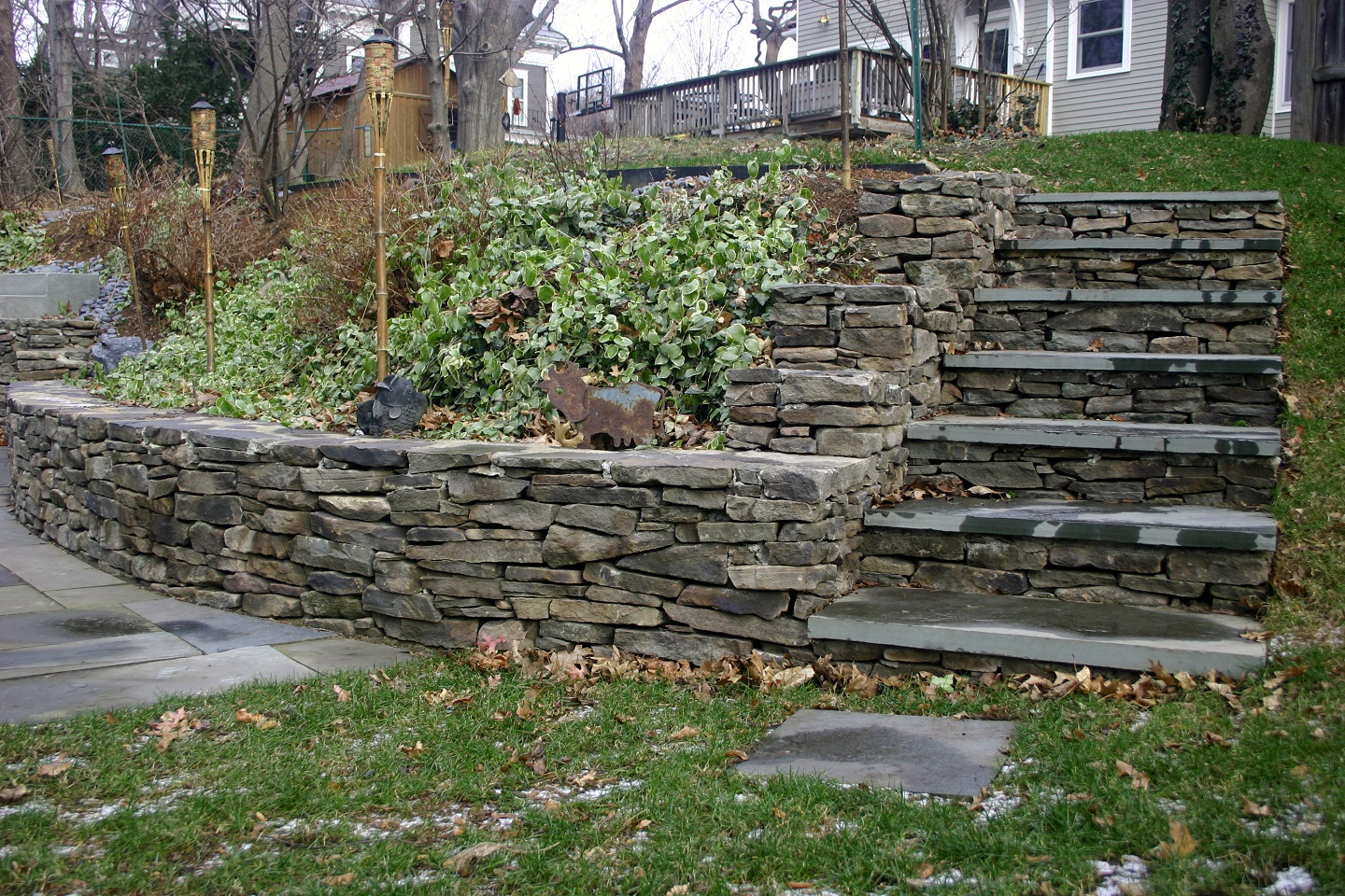 Newton, MA landscapers near me with top retaining wall ideas