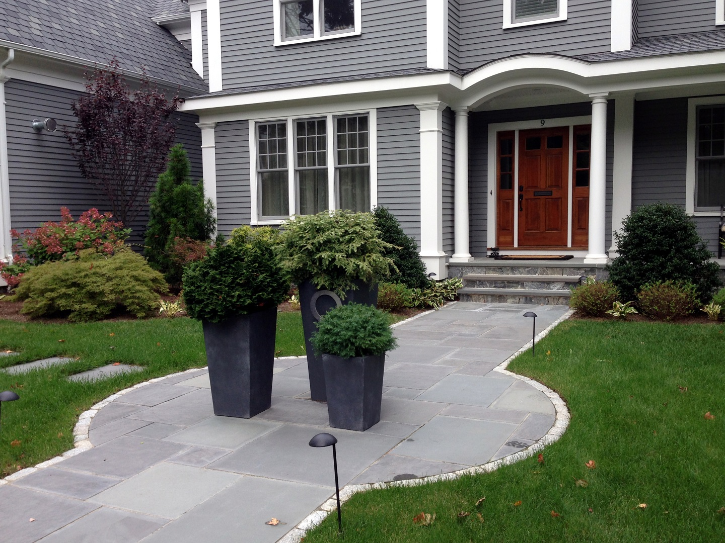 Durable walkway pavers in Wellesley, MA