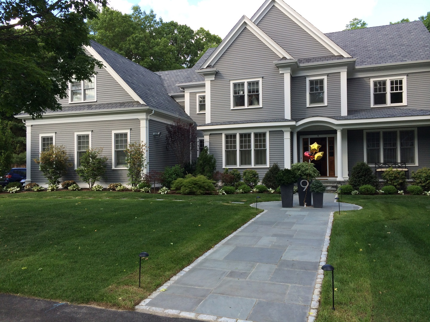 Stunning walkway pavers in Belmont, MA