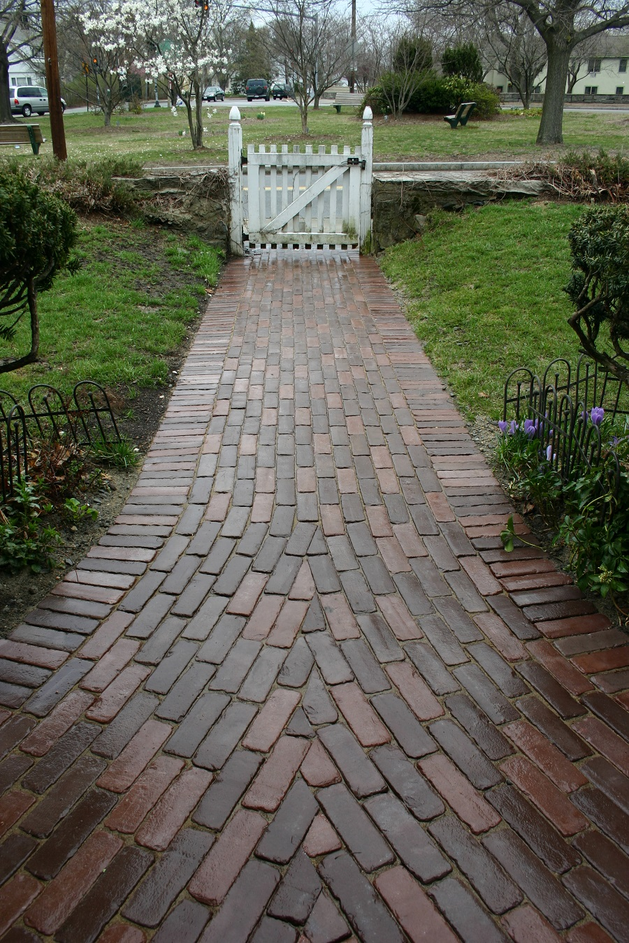 Arlington, MA walkway pavers by Unilock contractor