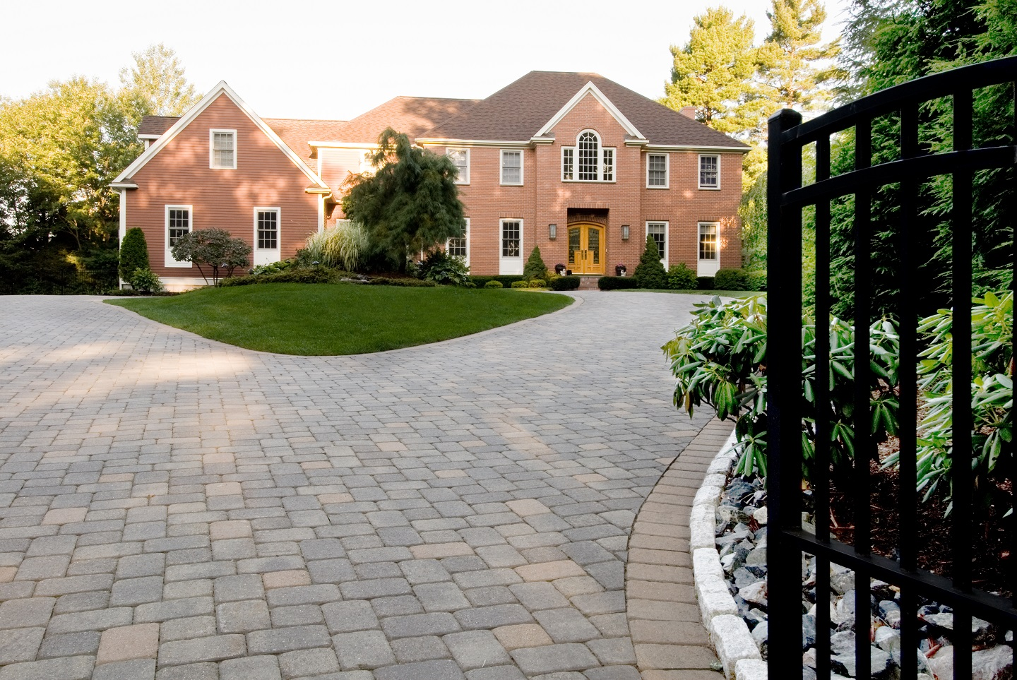 Durable Unilock driveway pavers in Cambridge, MA