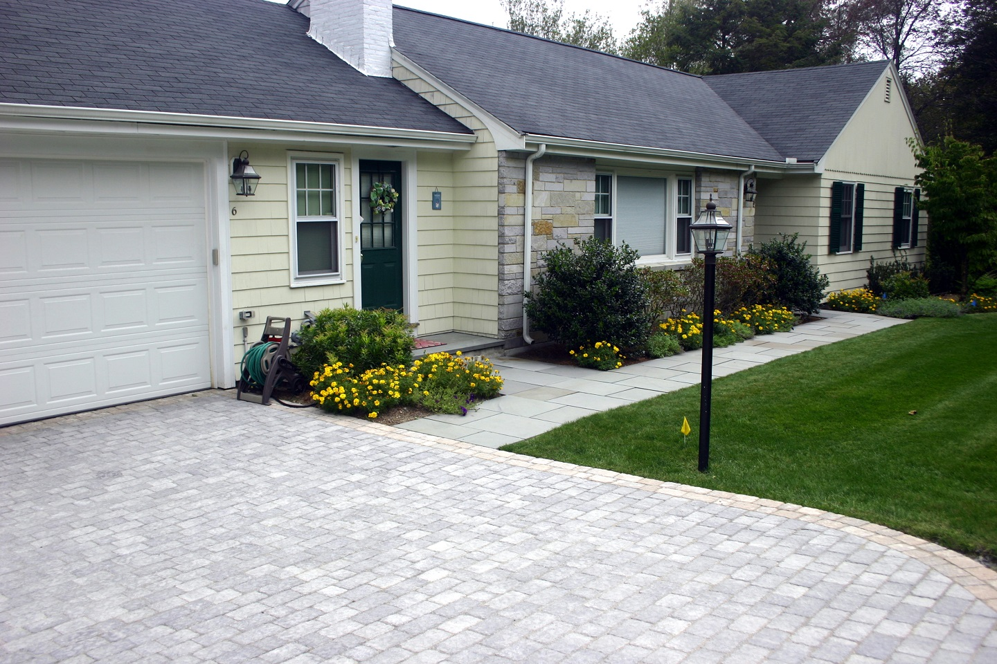 Durable permable pavers by Unilock in Belmont, MA