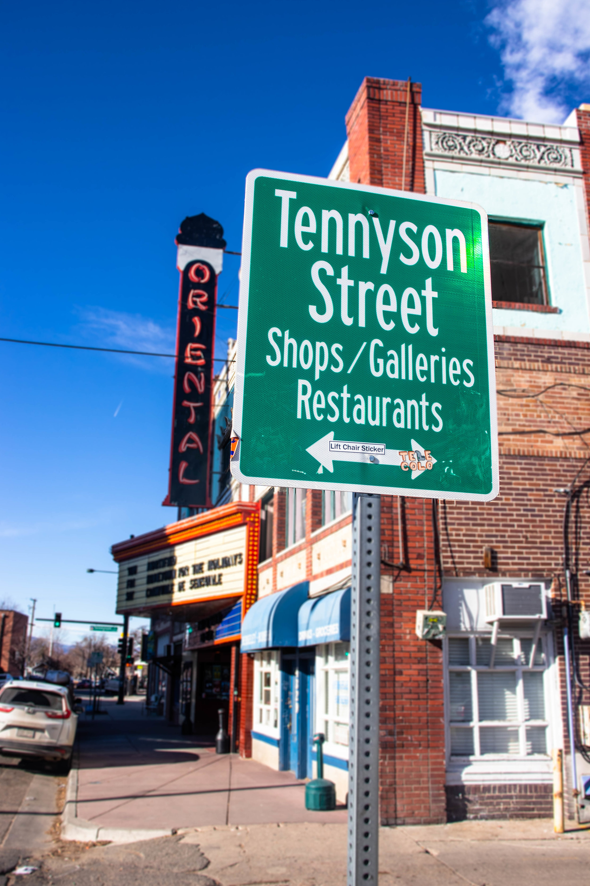 Tennyson Street Shops