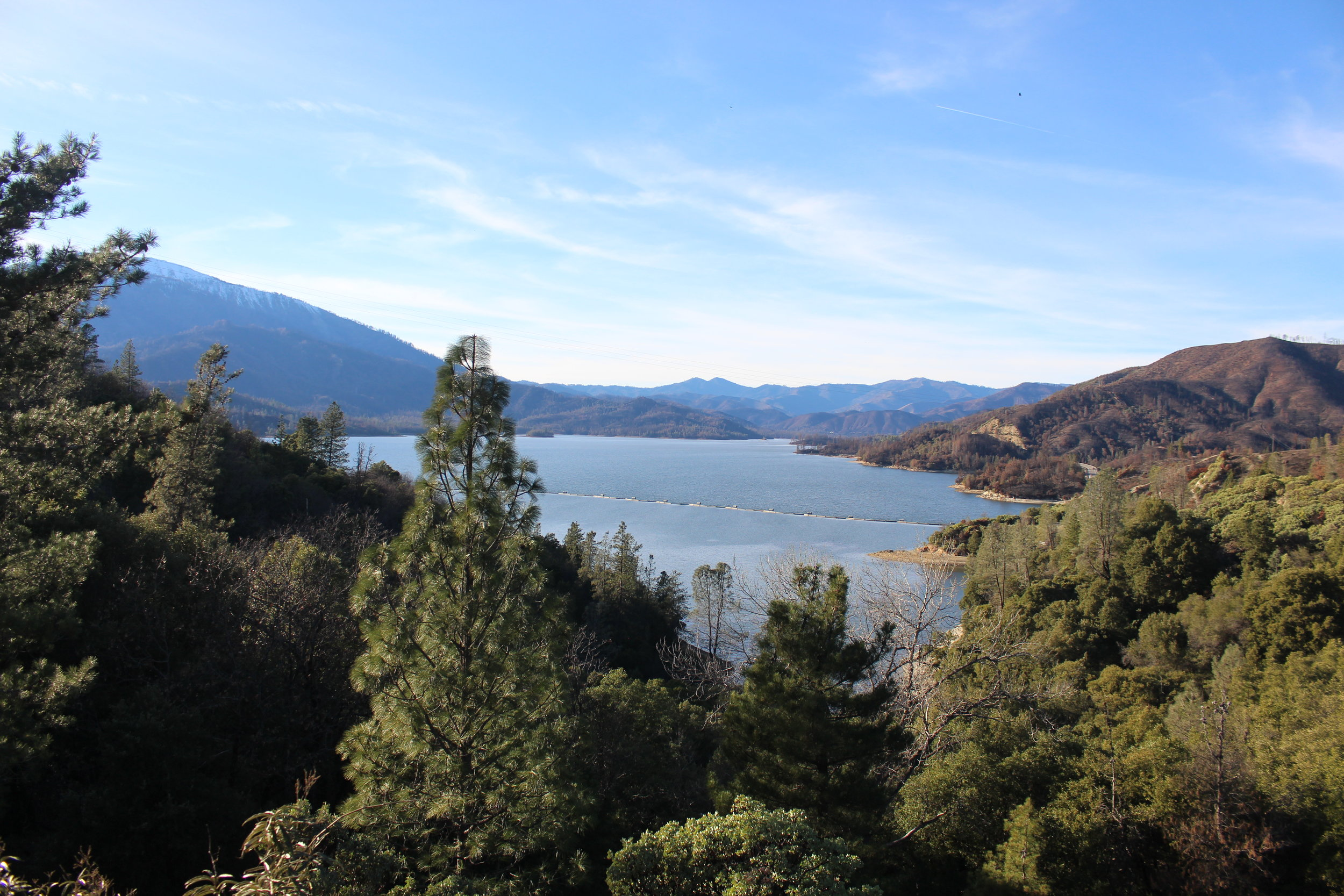 Whiskeytown Lake, Redding CA - Whiskeytown Lake is where the Carr Fire originated. The fire was so powerful that it melted several boats on the lake.