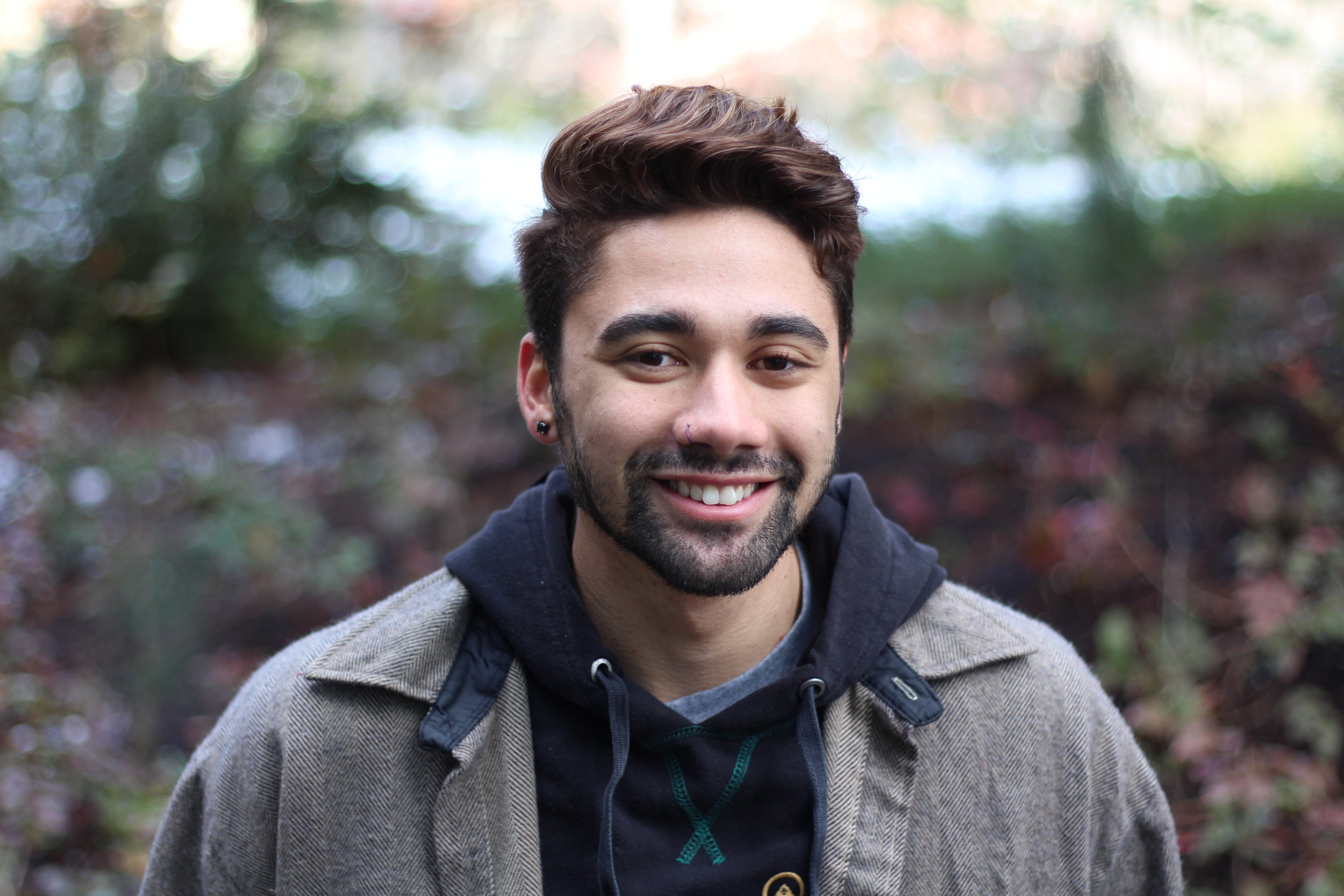 Chris Rosero - Soon leaving to go to school at SOU, Chris Rosero was shocked as the Carr Fire hit Redding this past summer. Rosero describes his emotions and thoughts of leaving his hometown, and how he felt being away from his family in college soon after.