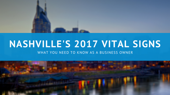 Nashville's 2017 Vital Signs