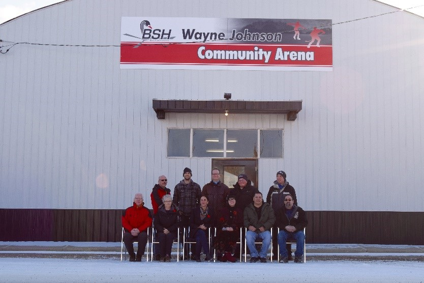 - Black Swan Helicopters is honored to name the Berwyn Arena after our late co-founder Wayne Johnson.