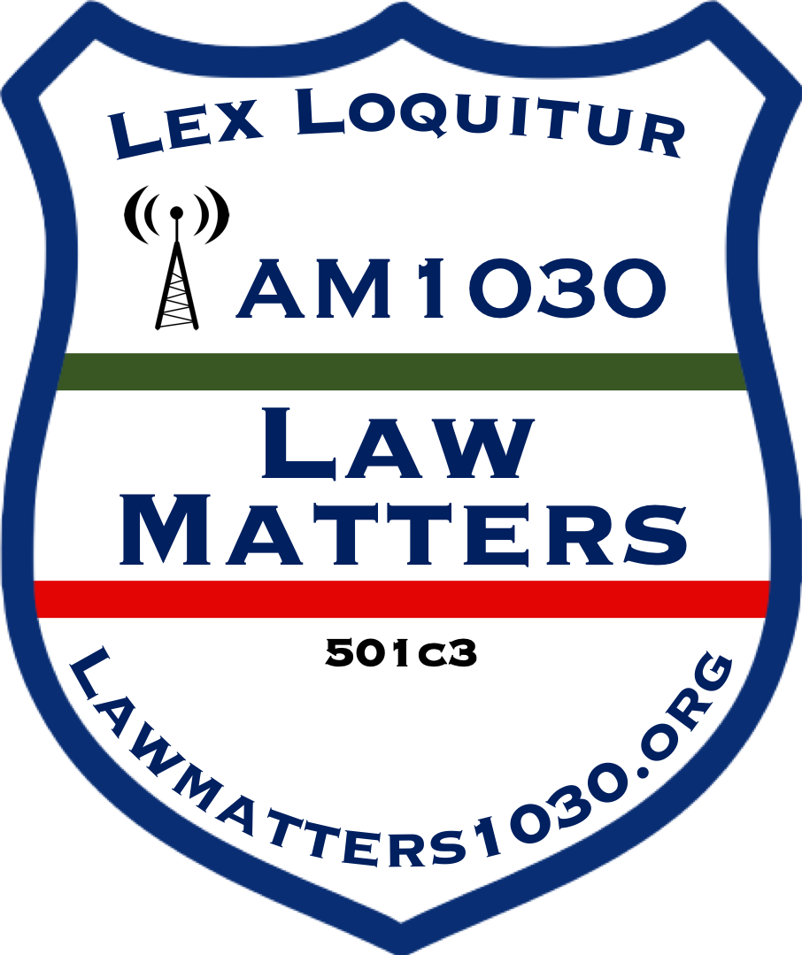 "Our Mission - Law Matters mission is to carry out non-partisan research, education and informational activities by opening the lines of communication through public media, and classroom settings between law enforcement, lawmakers, law litigators, as well as military personnel, whose goal of increasing awareness serves to avoid illicit drug and criminal activities, preventing the deterioration of neighborhoods.Law Matters logo is in the shape of a badge.Blue representing law enforcement.Red represents Fire Departments,Green represents Military and Border Patrol, while Lex Loquitur is Latin for""the law speaks""Learn More"
