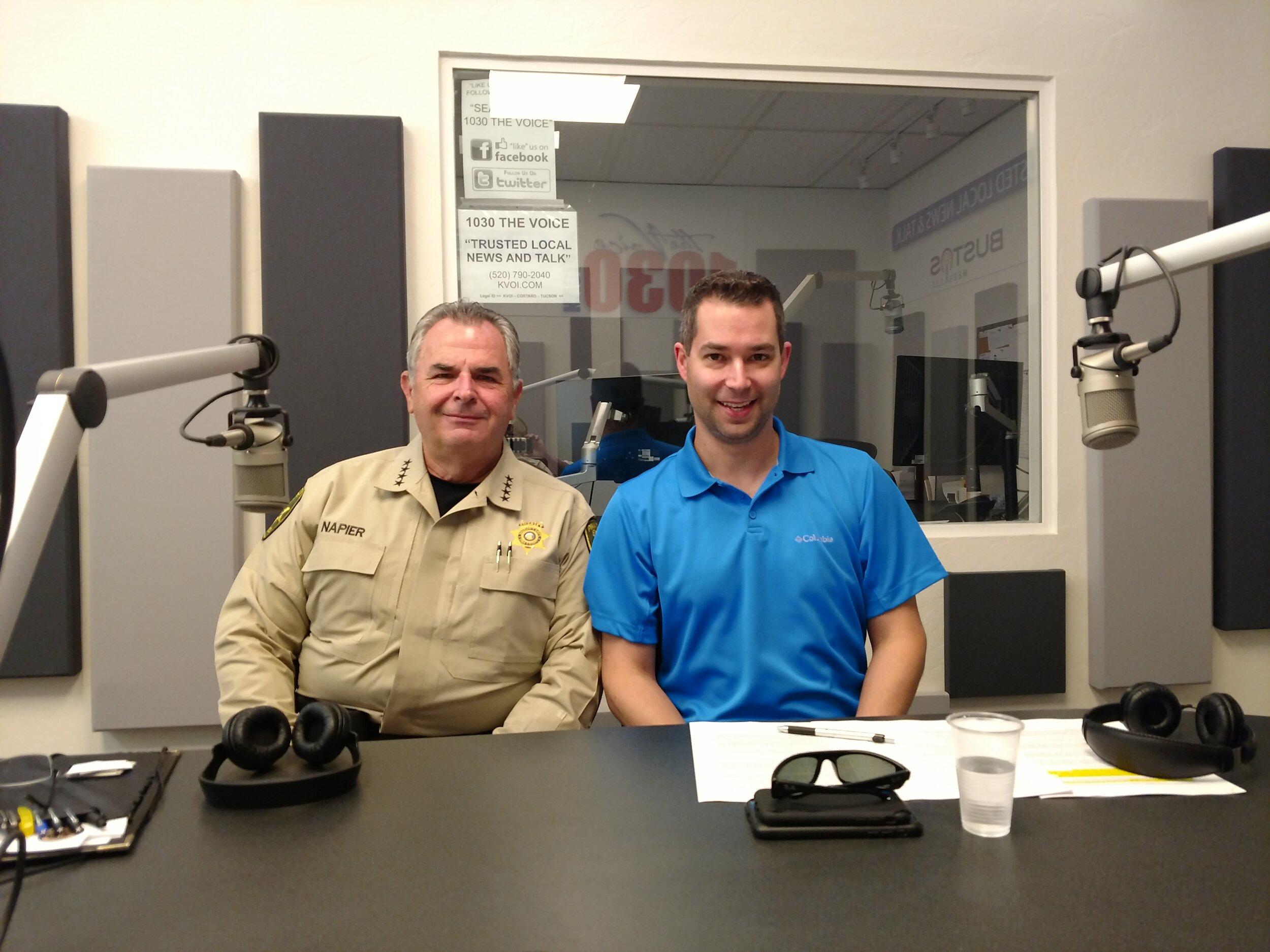 Sherrif Napier and TPD Lt. Colin King