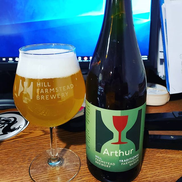 Glad Monday is coming to an end. Busy week ahead but lots of great beer including this one from @hillfarmstead