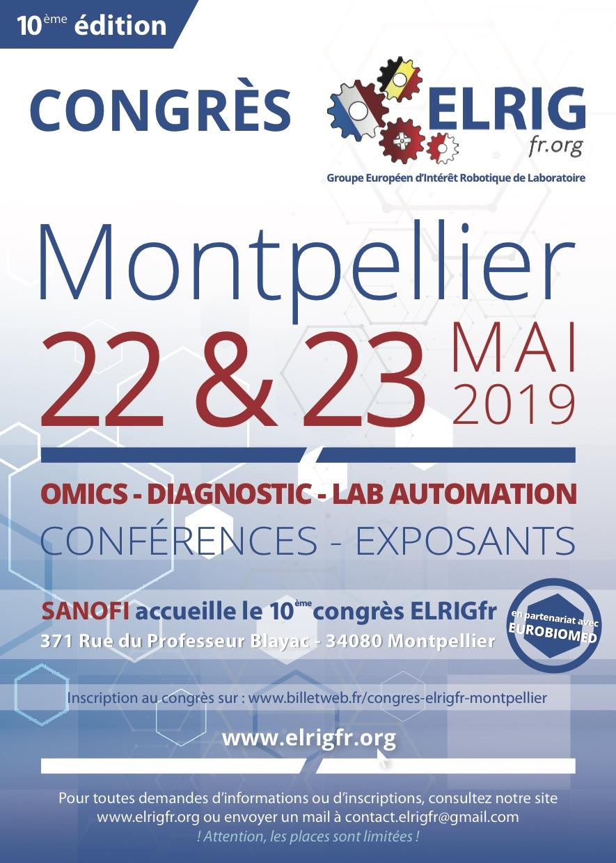 Flyer congrès Montpellier