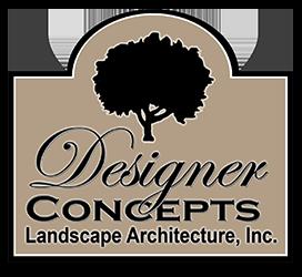 Designer Concepts Landscape Architecture official logo