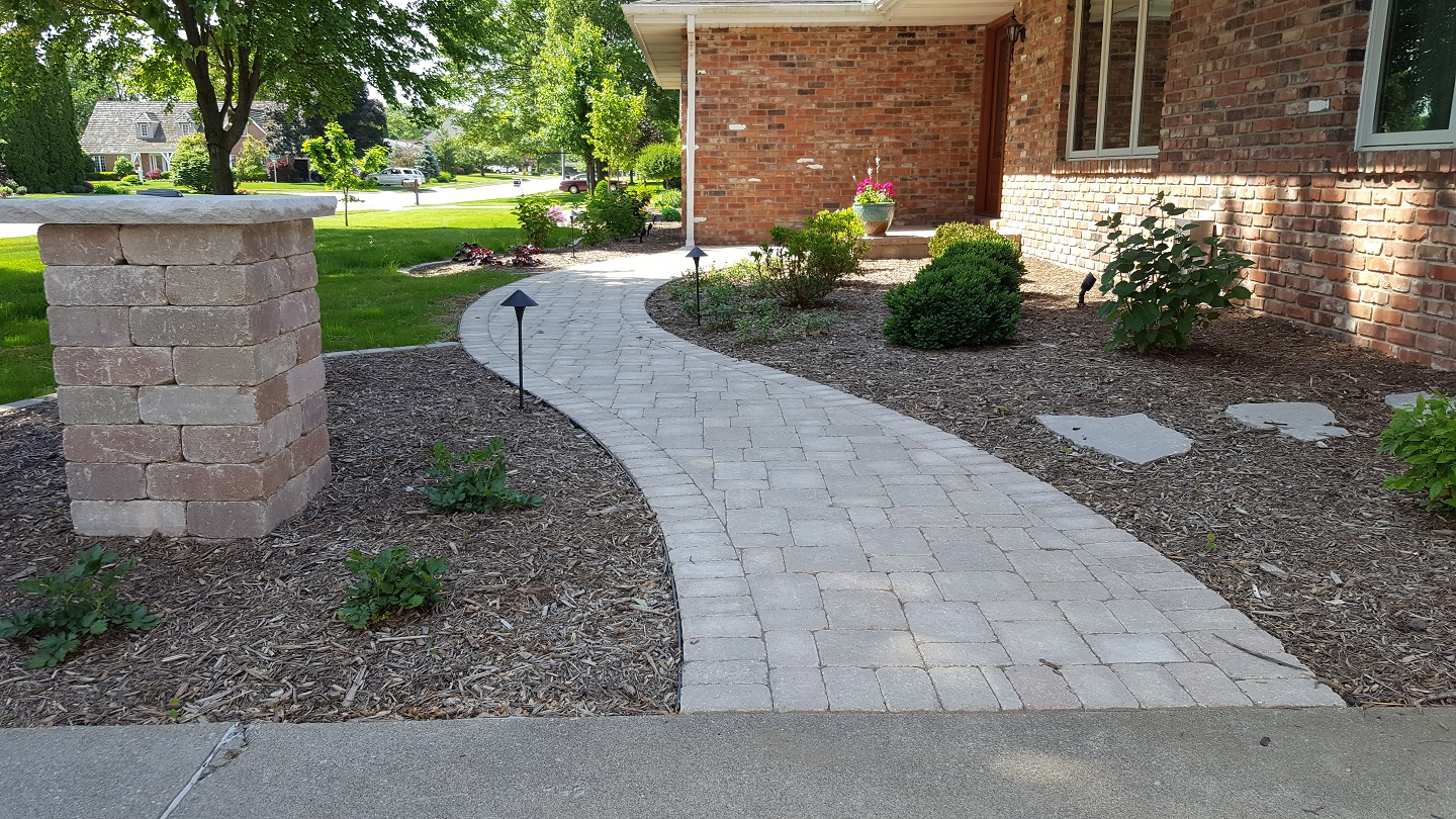 Walkway installation in East Peoria, IL