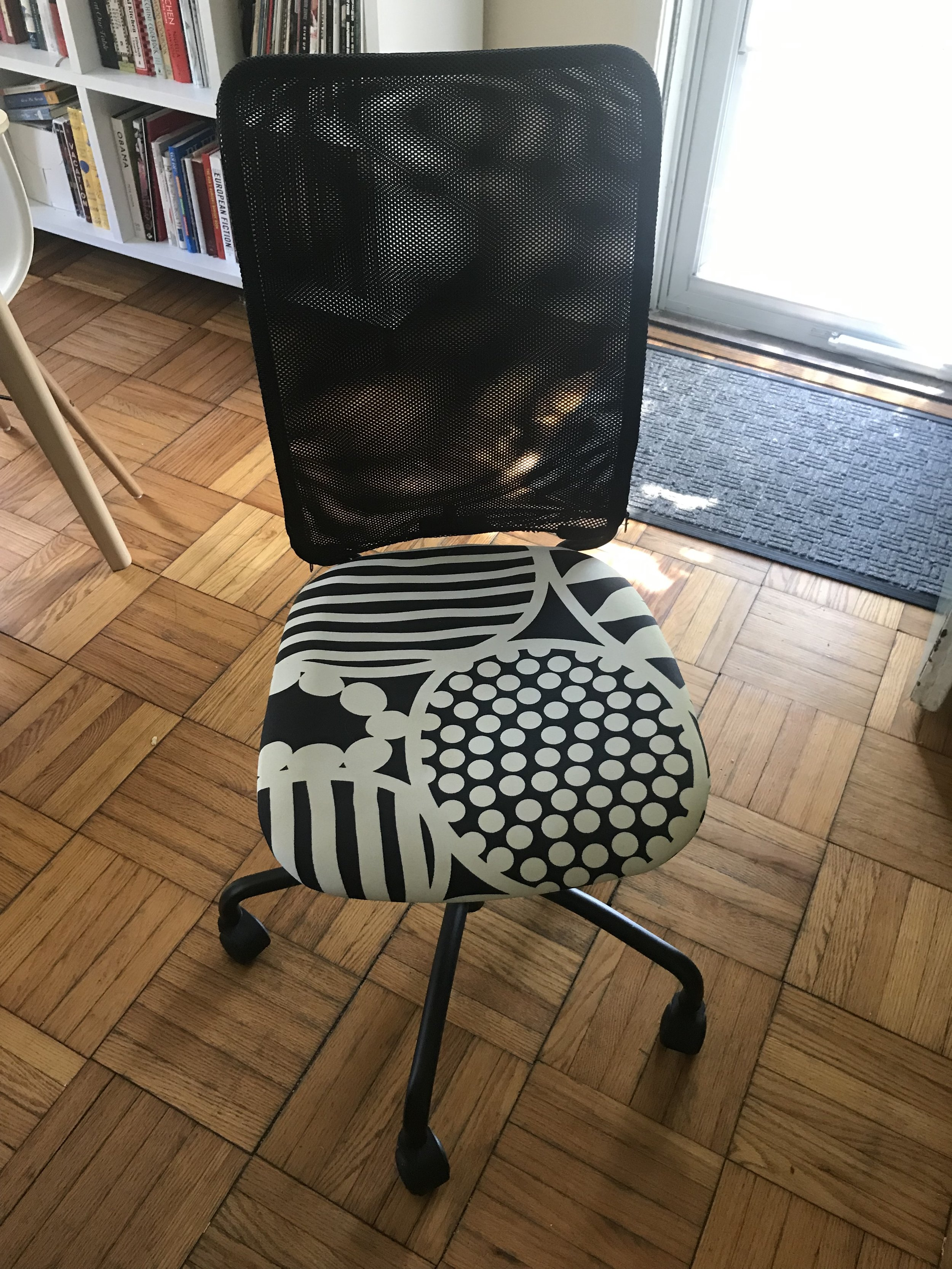 Yet another chair! - It's from IKEA. You can just take it if you want it.