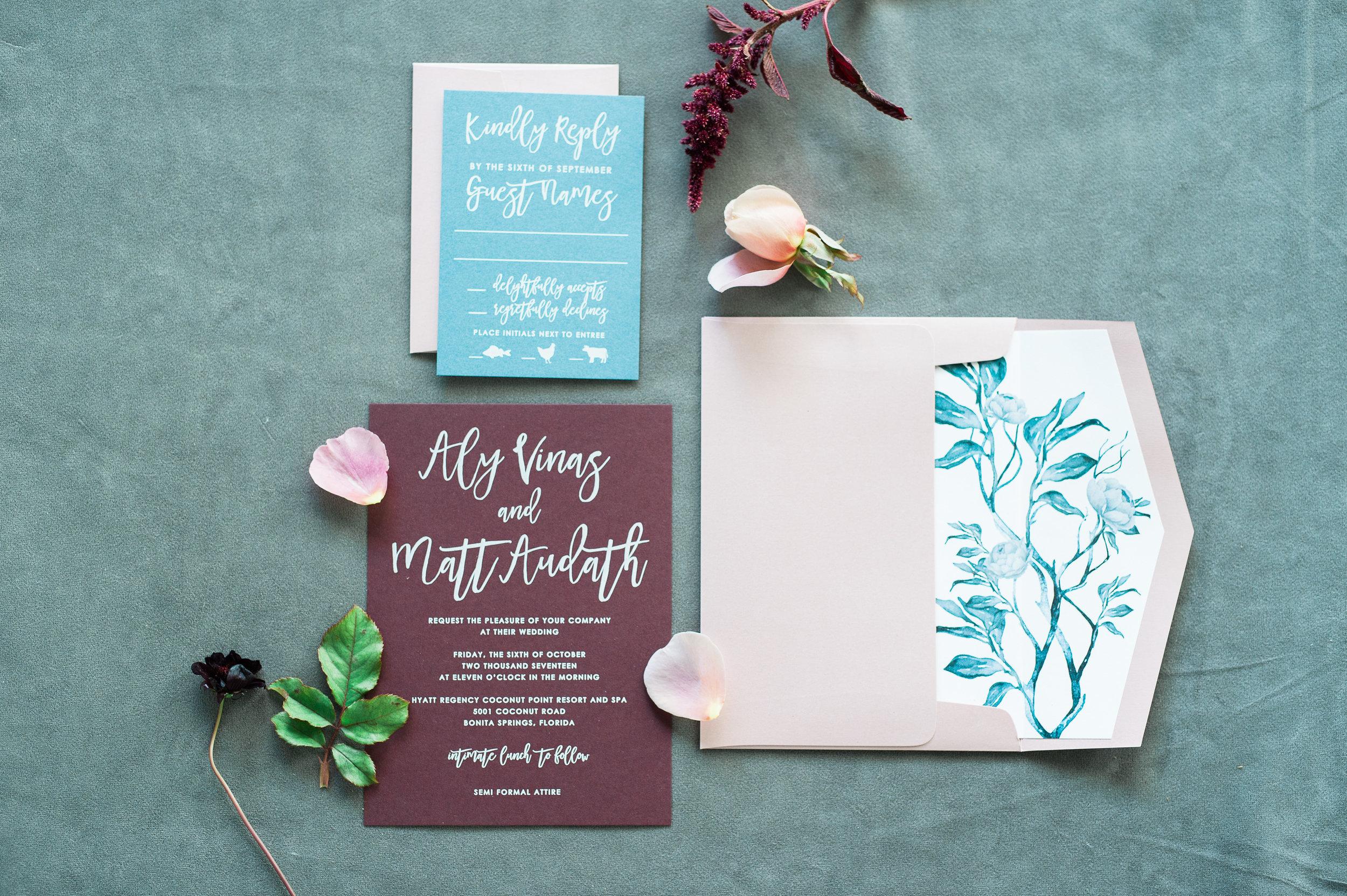 Jet Set Wed :: A Blooming Modern Brunch at Hyatt Regency Coconut Point :: Aly & Matt