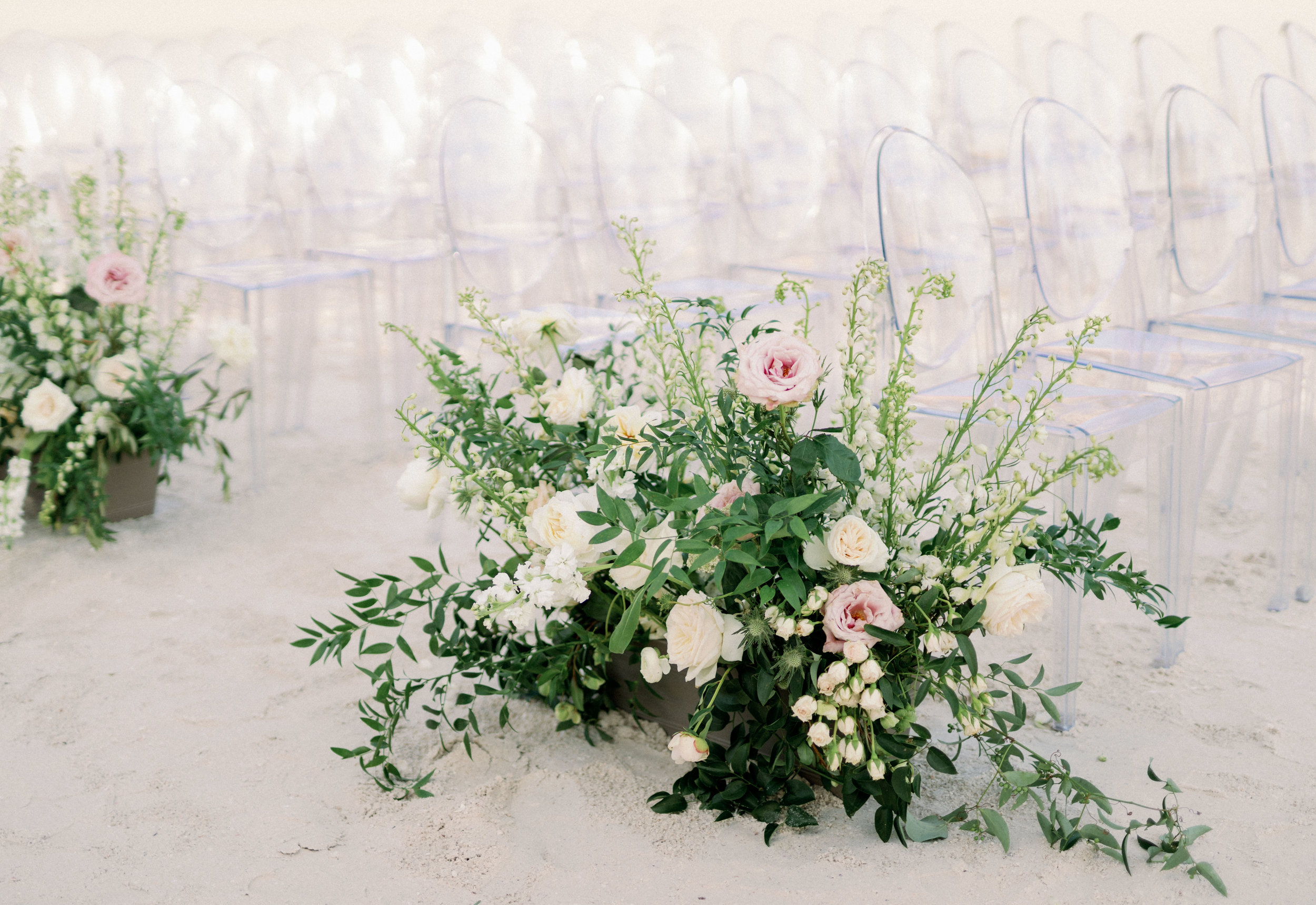 Jet Set Wed :: Organic Greek Grecian Inspired Garden Nuptials on the Gulf of Mexico