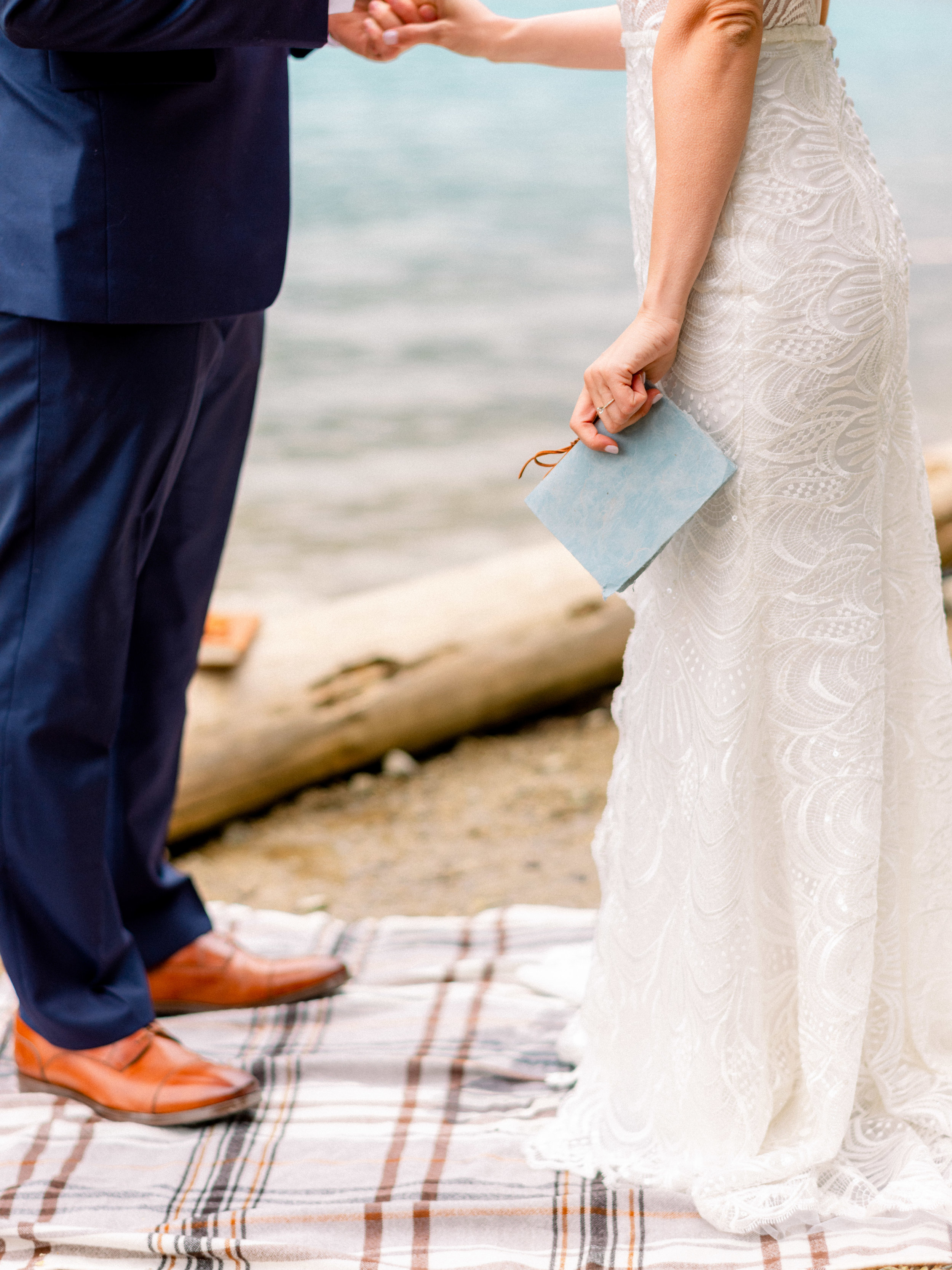 Jet Set Wed :: A Lakeside Elopement in Banff, Canada