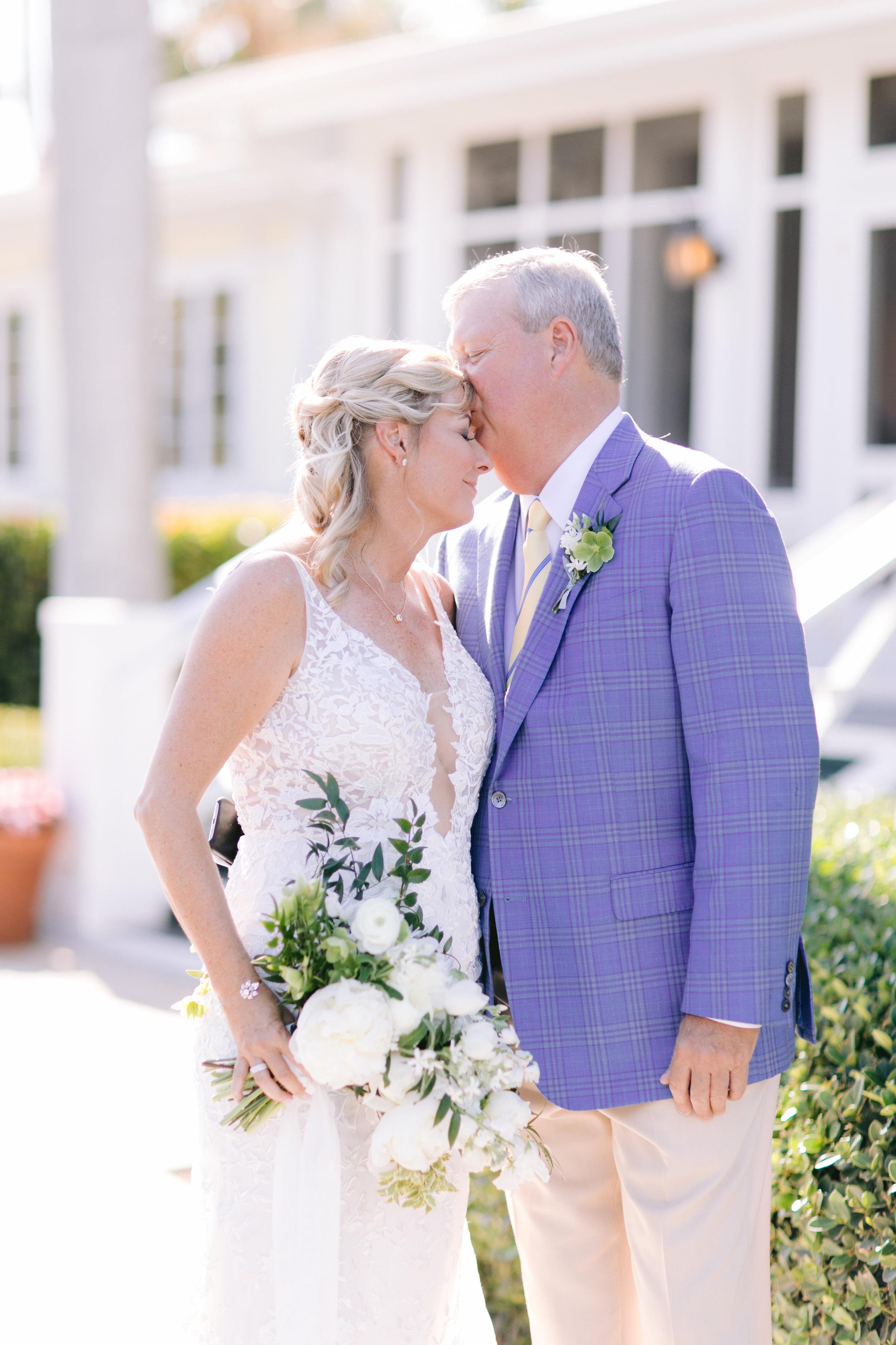 Gasparilla Inn Wedding Jet Set Wed blue suit and white bouquet-1366.jpg