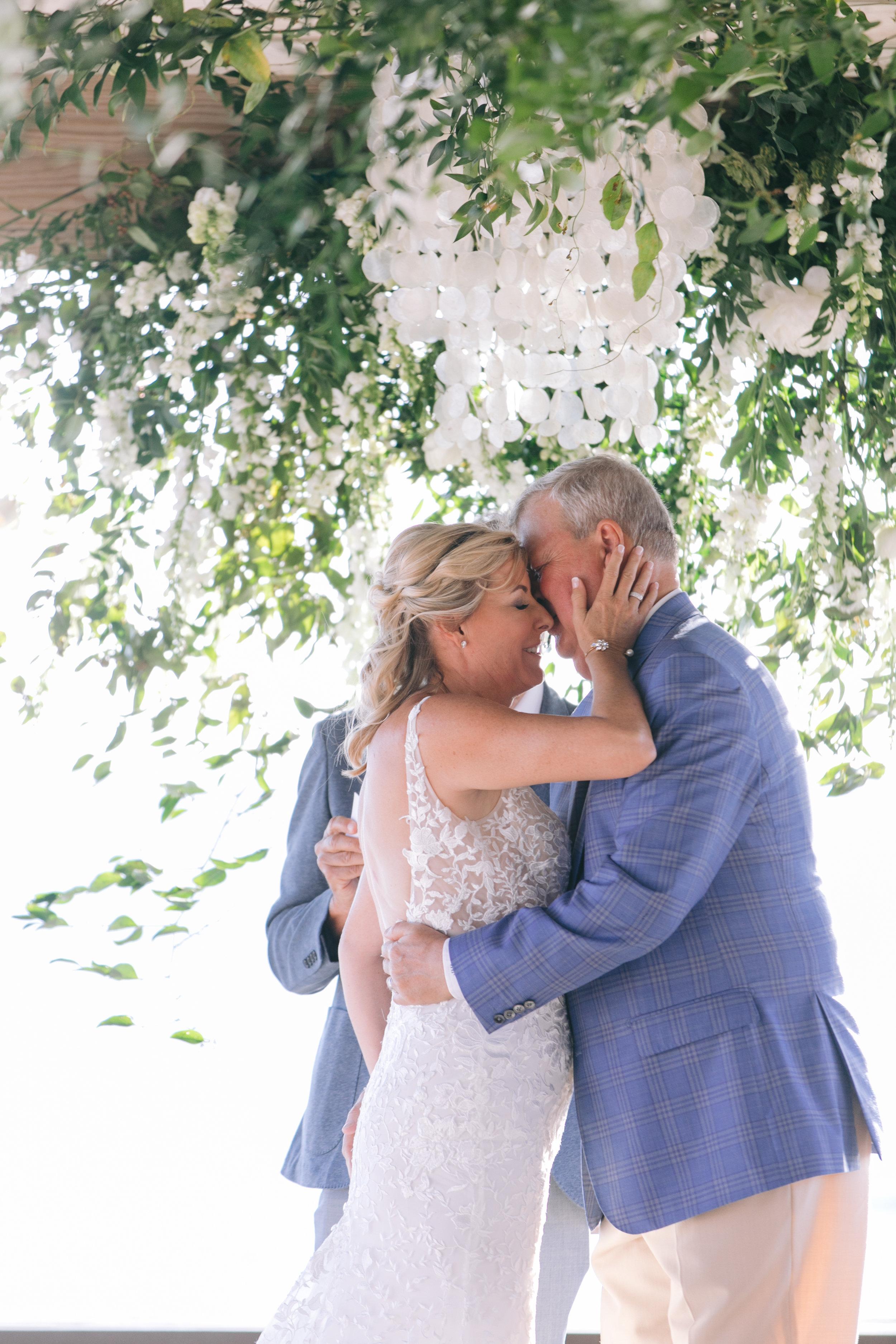 Gasparilla Inn Wedding Jet Set Wed ceremony kiss-1668.jpg