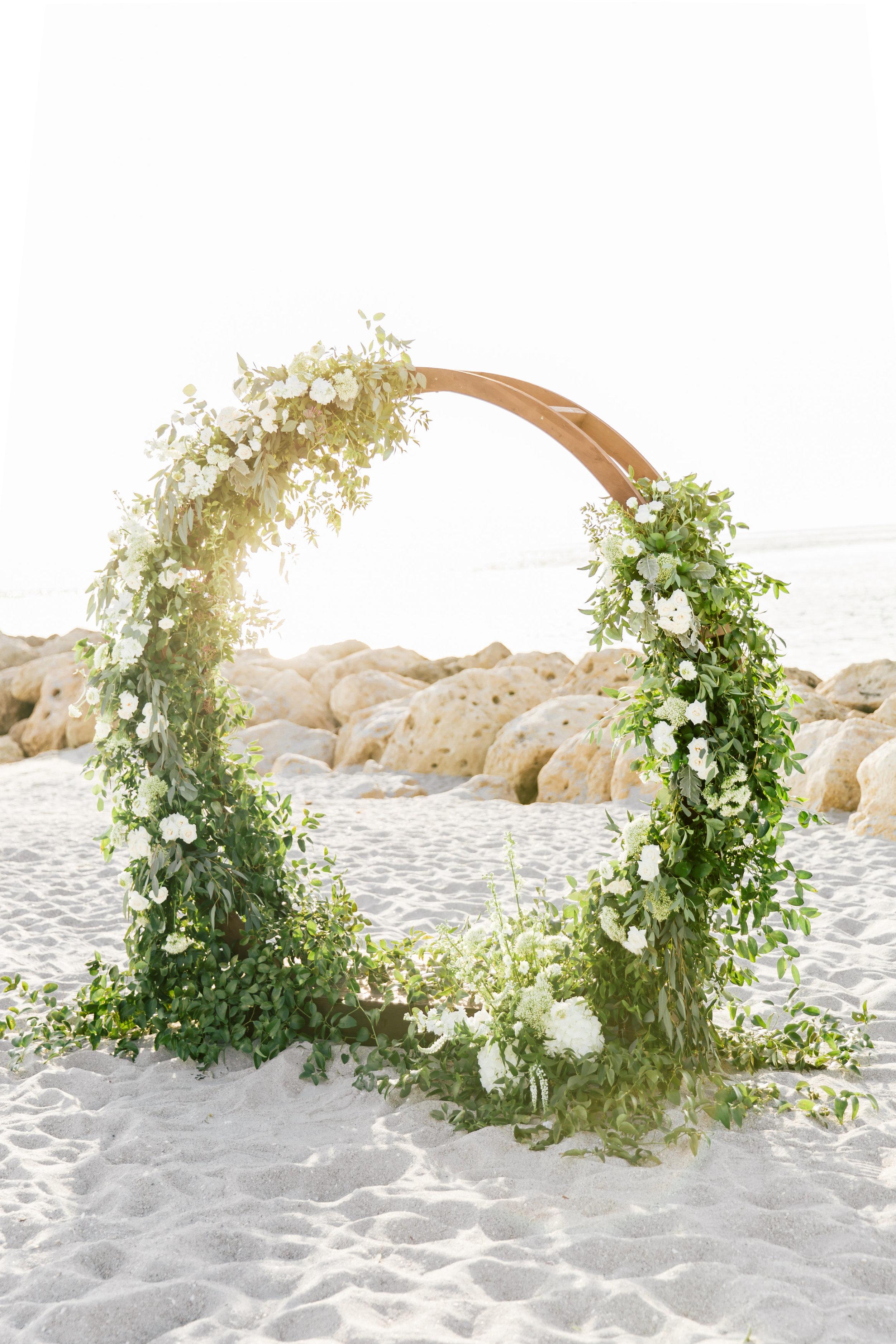 South Seas Wedding Blue white gray beach destination jet set wed